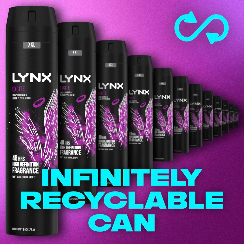 thumbnail 48 - 6 Pack Lynx XXL 48H Fresh Deodorant Body Spray,250ml