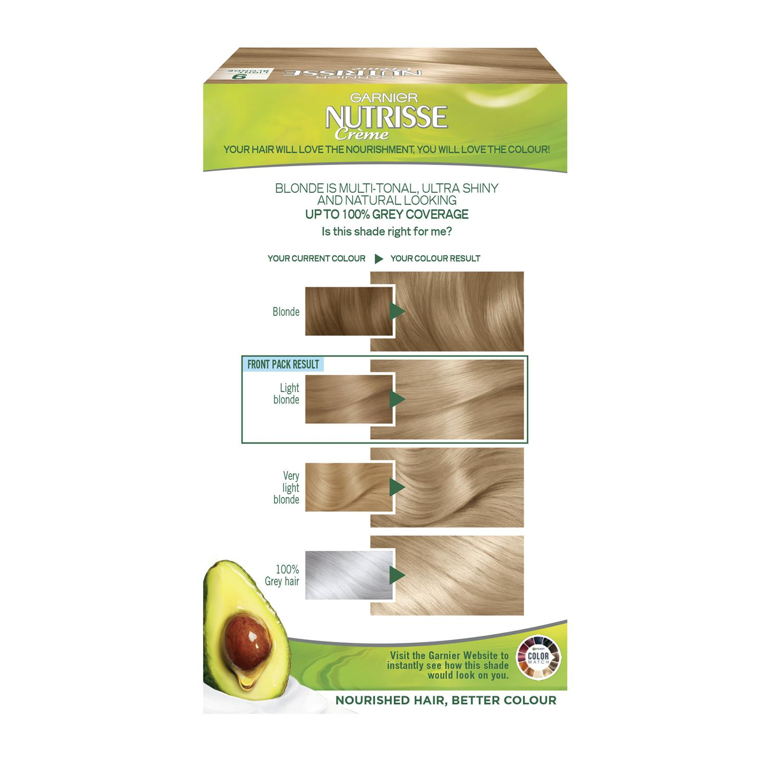 thumbnail 285 - 3 Pack Garnier Nutrisse Permanent Hair Dye With Different Shades