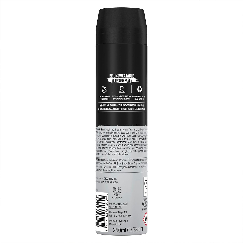 thumbnail 23 - 6 Pack Lynx XXL 72-Hour Sweat Protection Anti-Perspirant Deodorant, 250ml