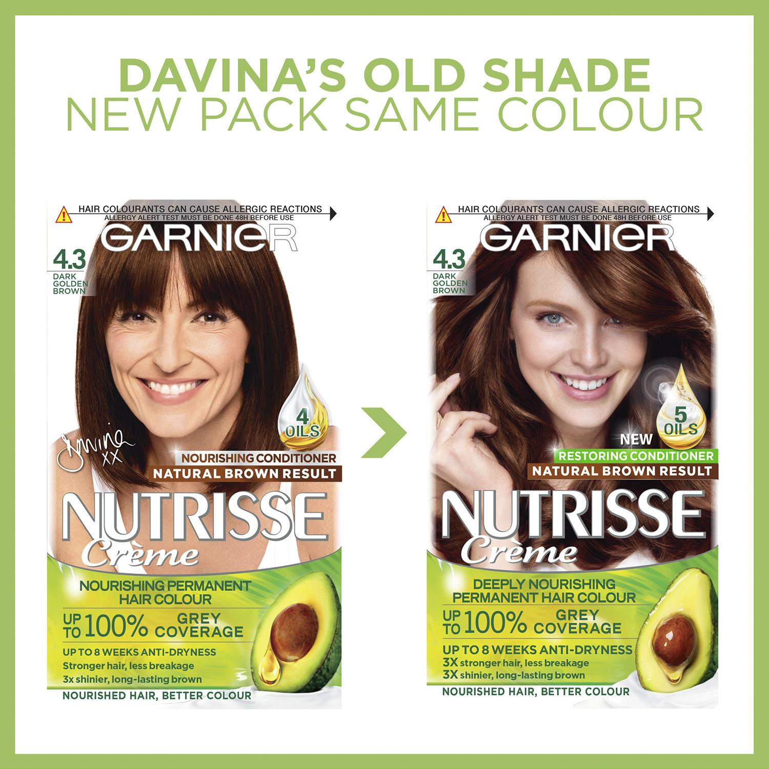 thumbnail 83 - 3 Pack Garnier Nutrisse Permanent Hair Dye With Different Shades