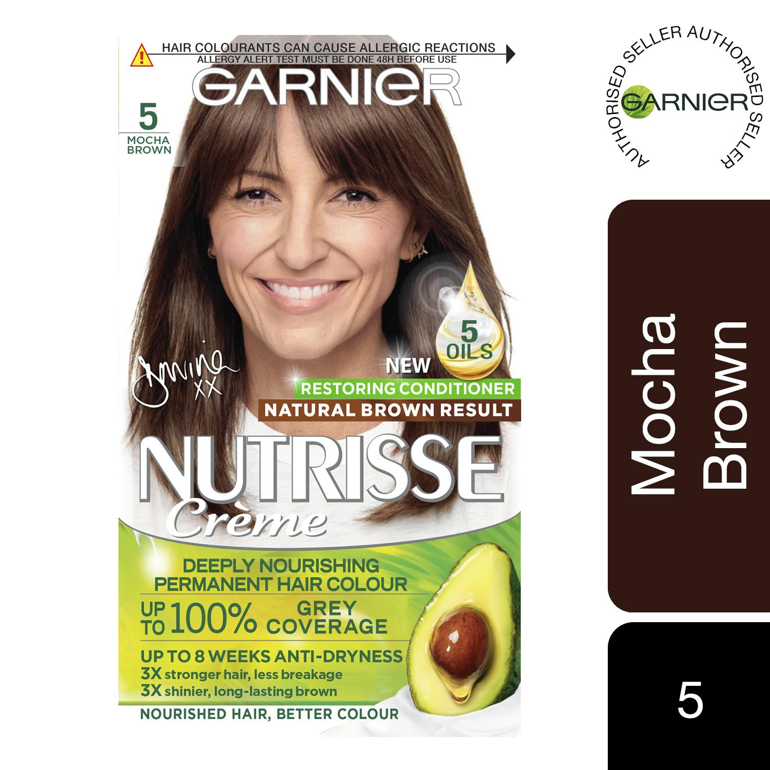 thumbnail 118 - 3 Pack Garnier Nutrisse Permanent Hair Dye With Different Shades
