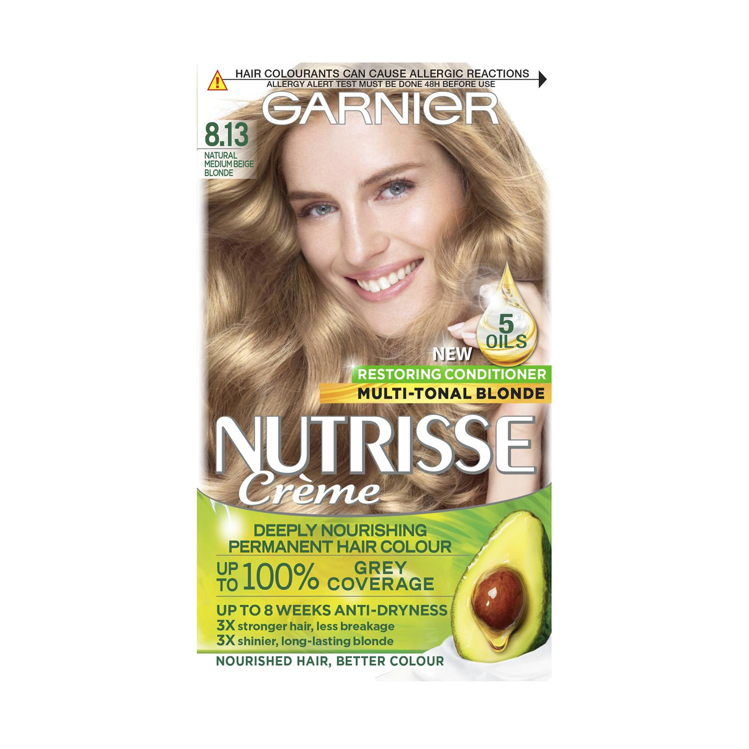 thumbnail 261 - 3 Pack Garnier Nutrisse Permanent Hair Dye With Different Shades