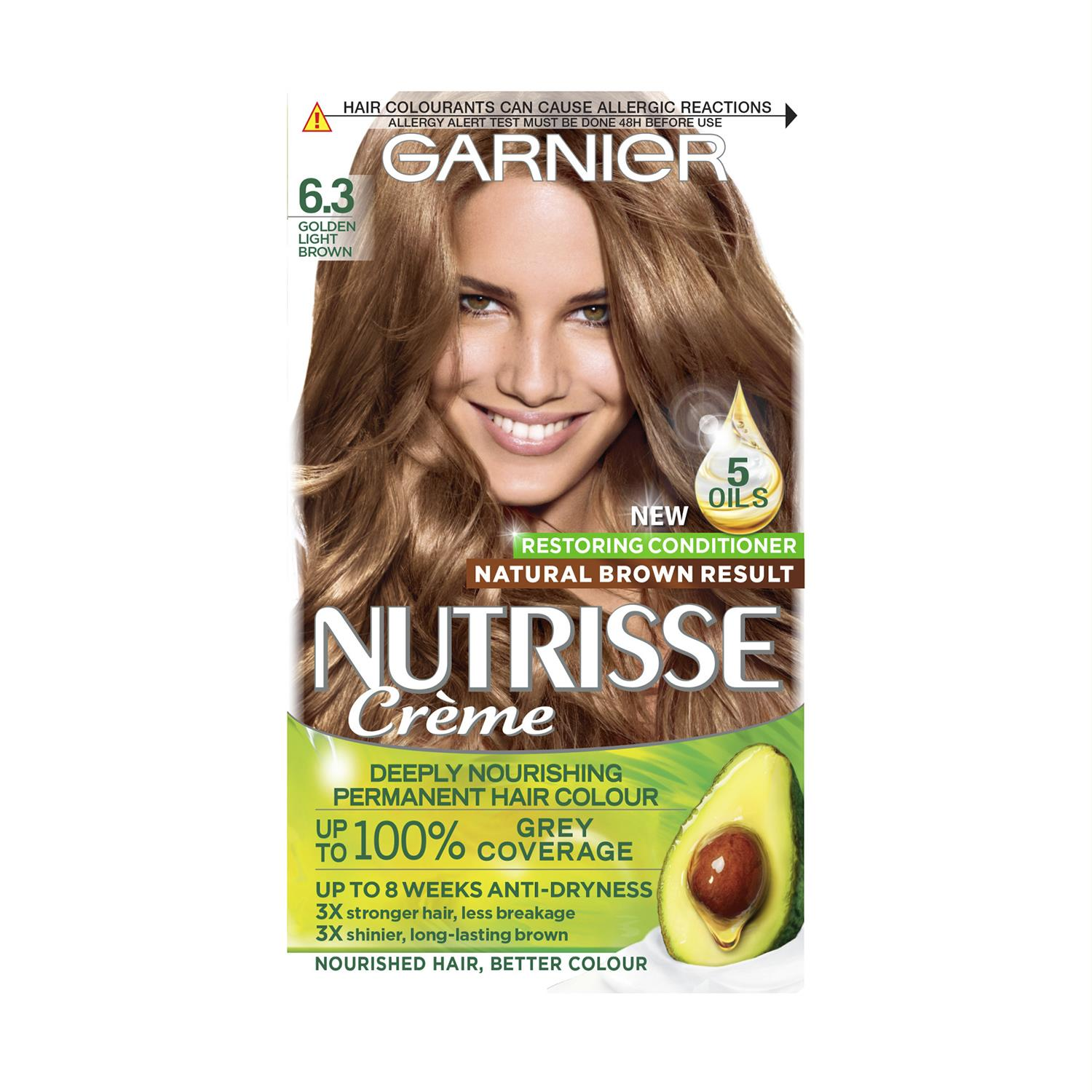 thumbnail 177 - 3 Pack Garnier Nutrisse Permanent Hair Dye With Different Shades