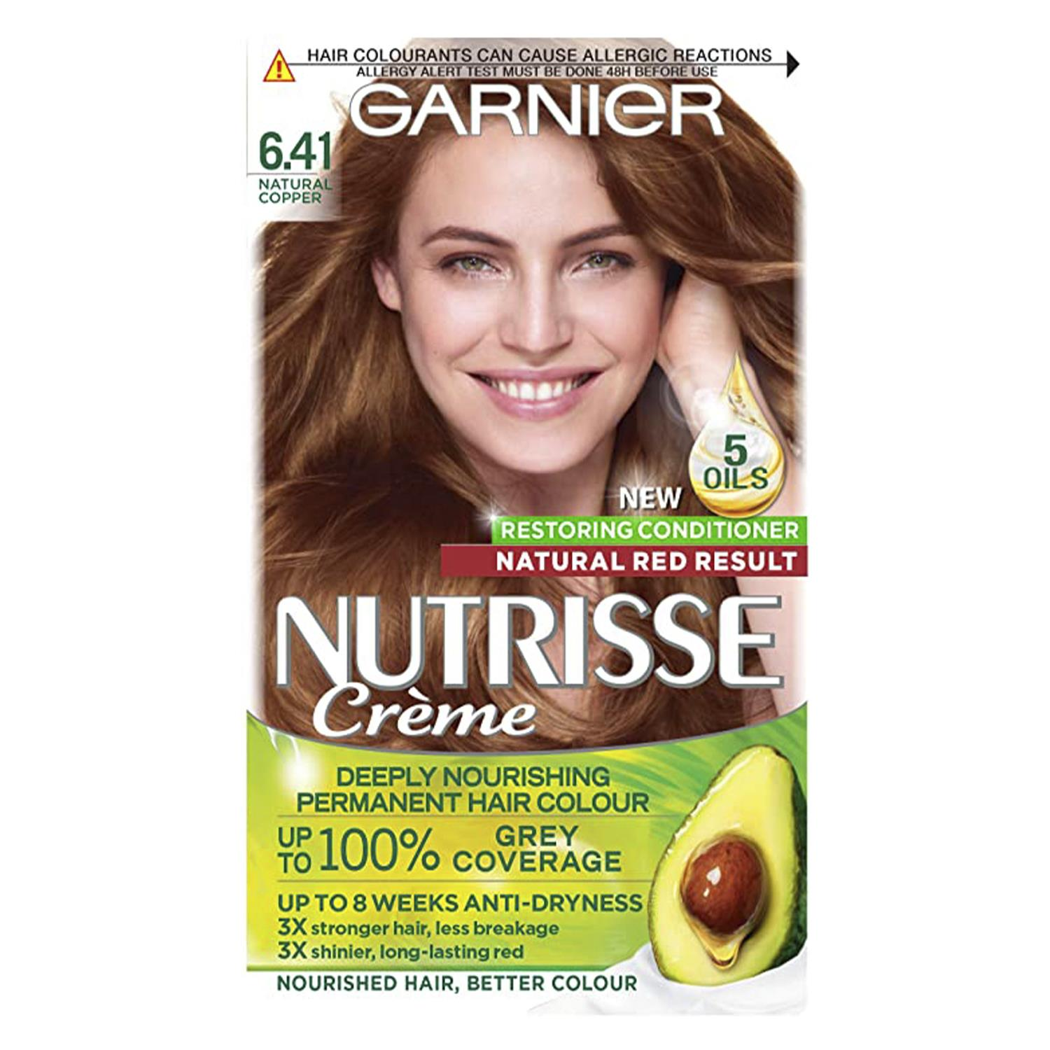 thumbnail 201 - 3 Pack Garnier Nutrisse Permanent Hair Dye With Different Shades