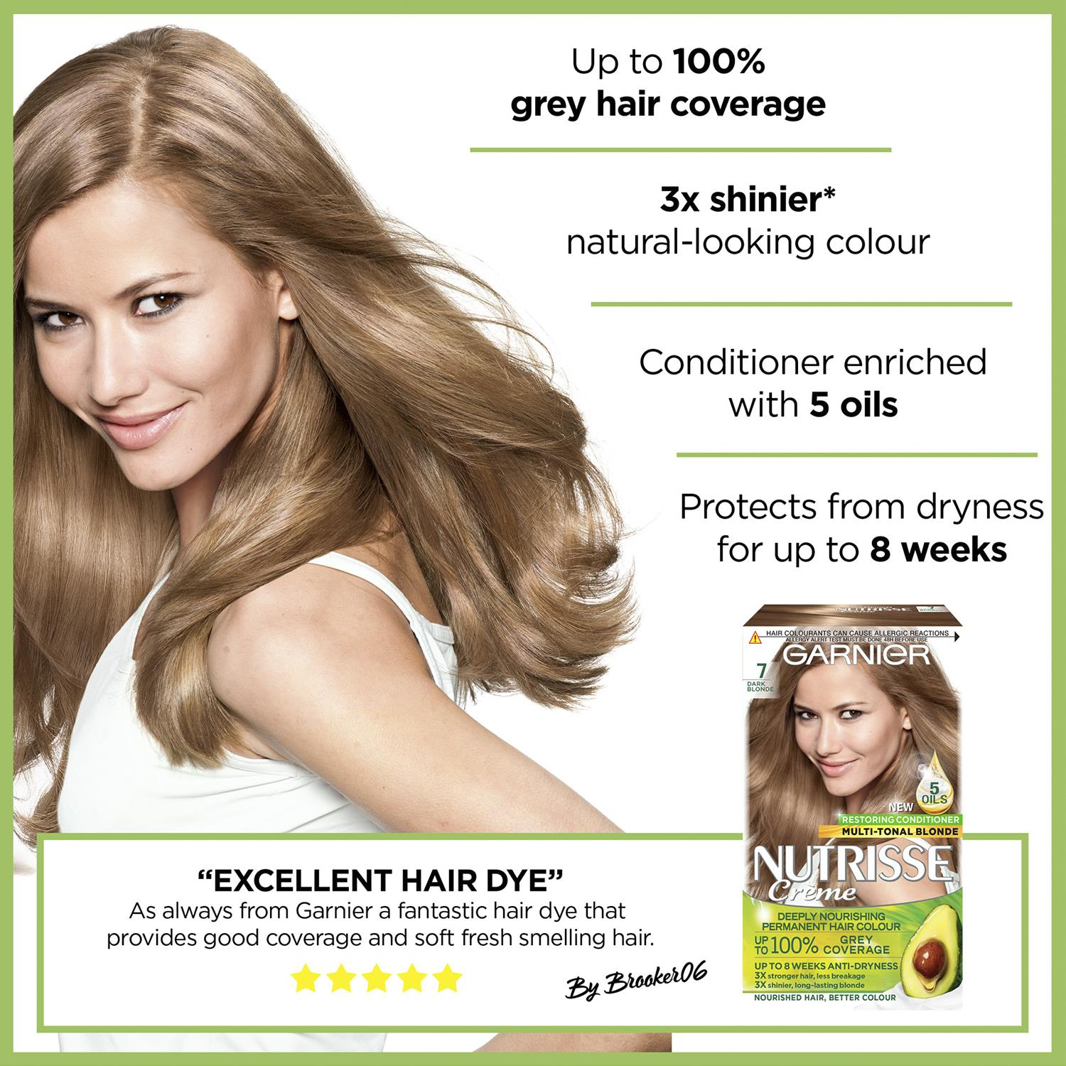 thumbnail 227 - 3 Pack Garnier Nutrisse Permanent Hair Dye With Different Shades