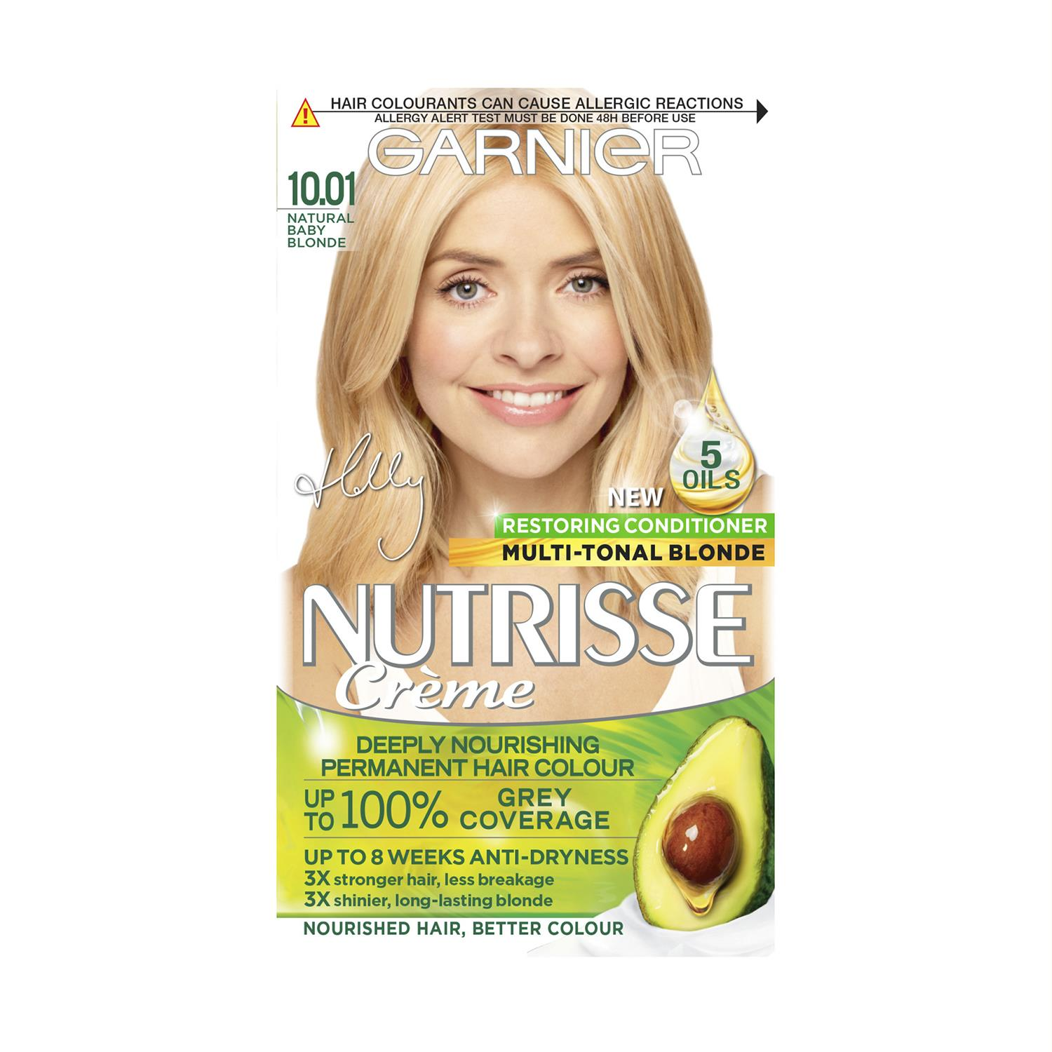 thumbnail 292 - 3 Pack Garnier Nutrisse Permanent Hair Dye With Different Shades