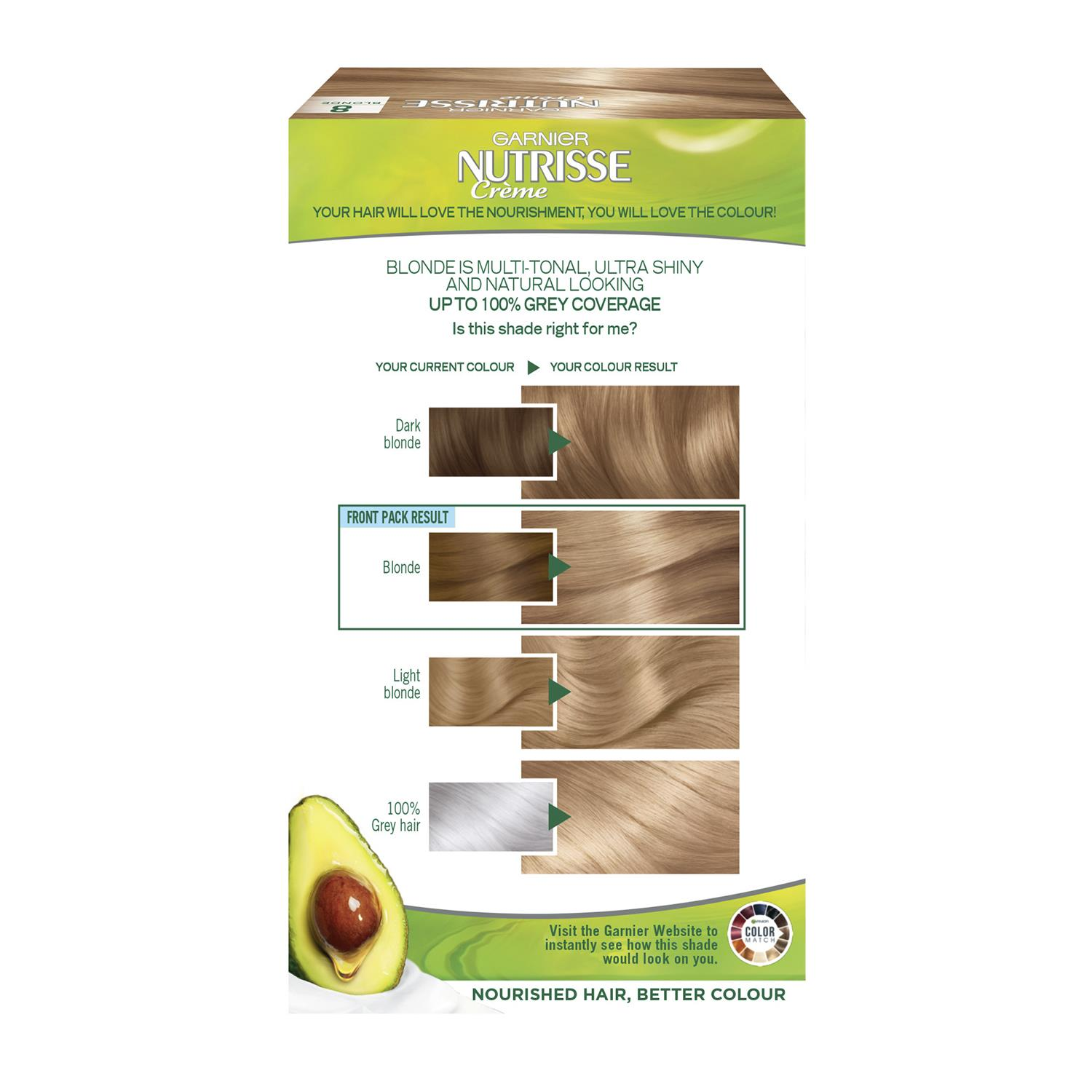 thumbnail 255 - 3 Pack Garnier Nutrisse Permanent Hair Dye With Different Shades