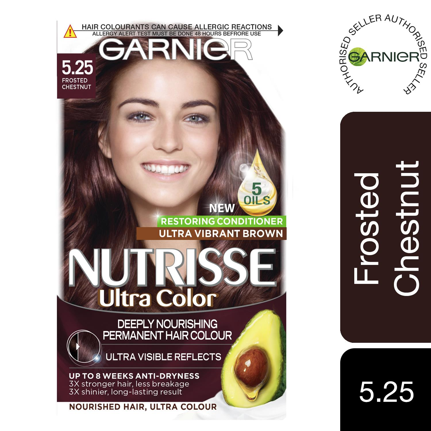 thumbnail 143 - 3 Pack Garnier Nutrisse Permanent Hair Dye With Different Shades