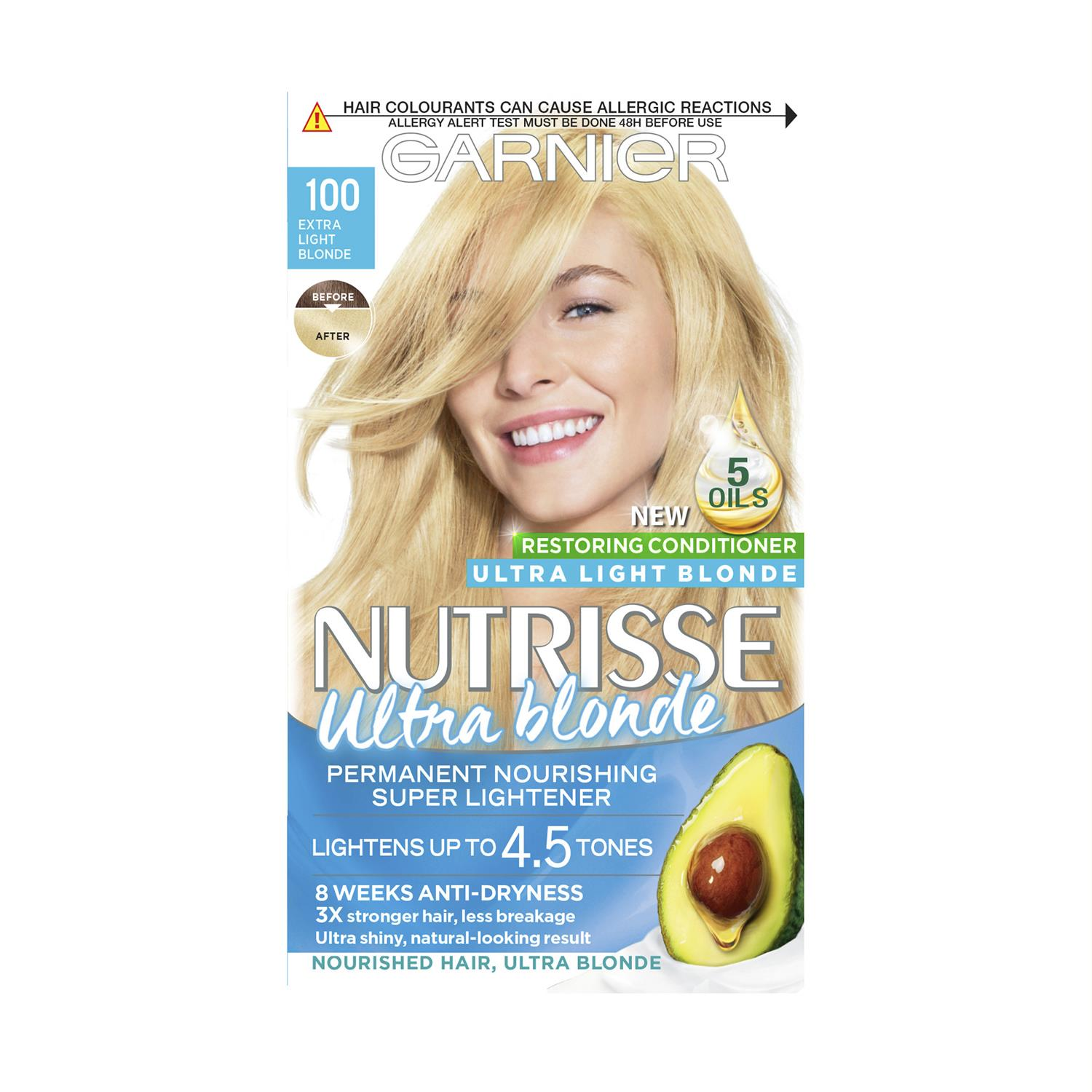 thumbnail 308 - 3 Pack Garnier Nutrisse Permanent Hair Dye With Different Shades
