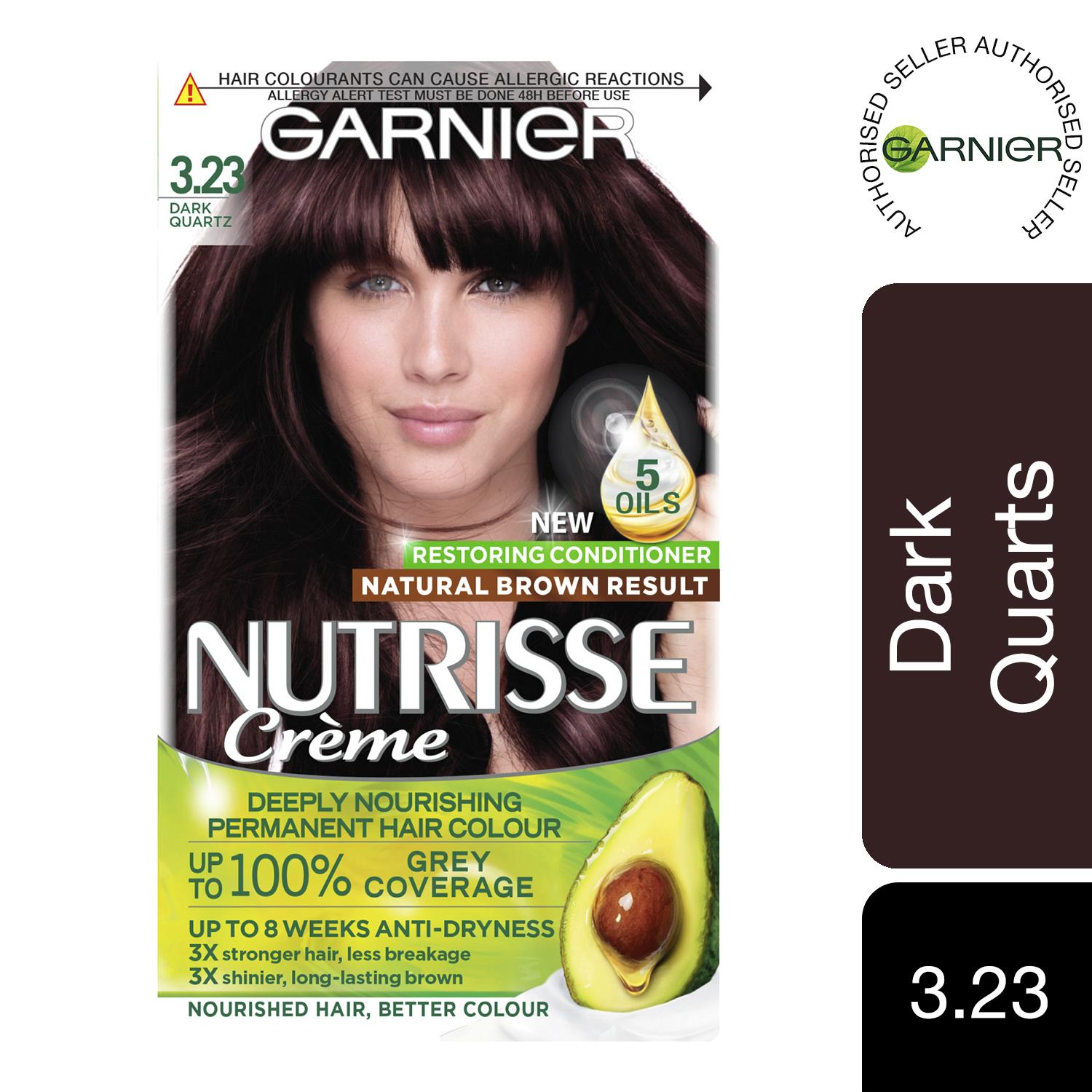 thumbnail 54 - 3 Pack Garnier Nutrisse Permanent Hair Dye With Different Shades