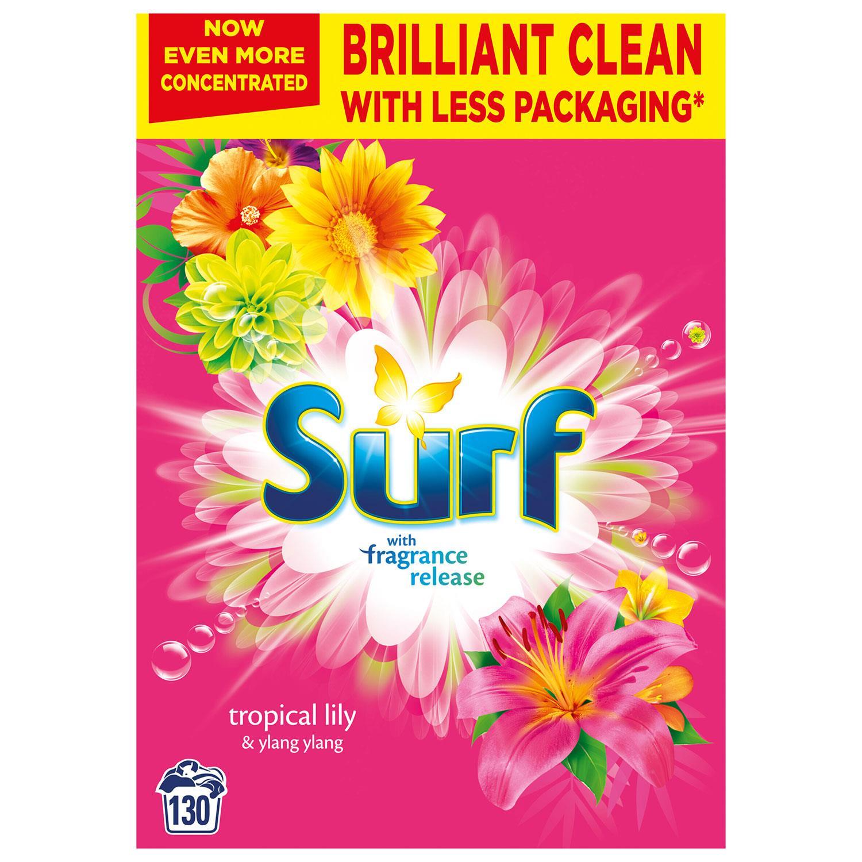 thumbnail 30 - Laundry Bundle 1x130W Surf Laundry Powder & 1x58W Comfort Fabric Conditioner
