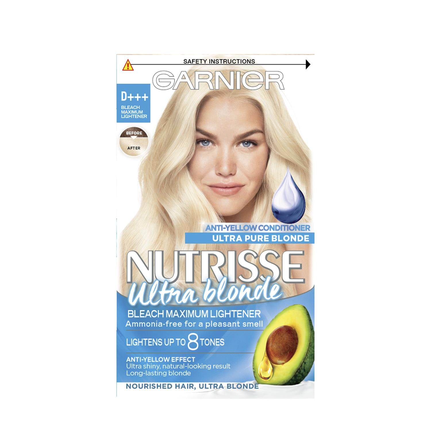 thumbnail 315 - 3 Pack Garnier Nutrisse Permanent Hair Dye With Different Shades