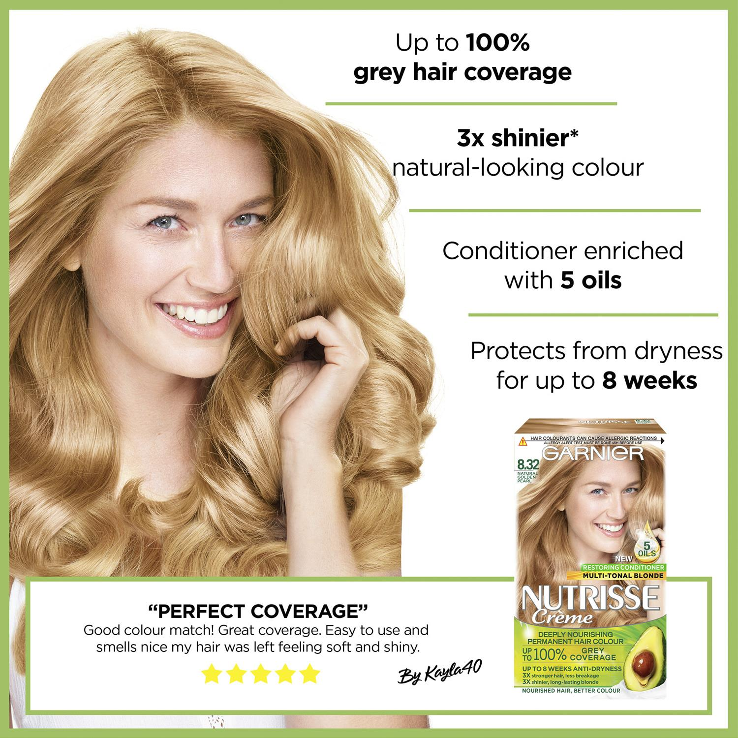 thumbnail 272 - 3 Pack Garnier Nutrisse Permanent Hair Dye With Different Shades