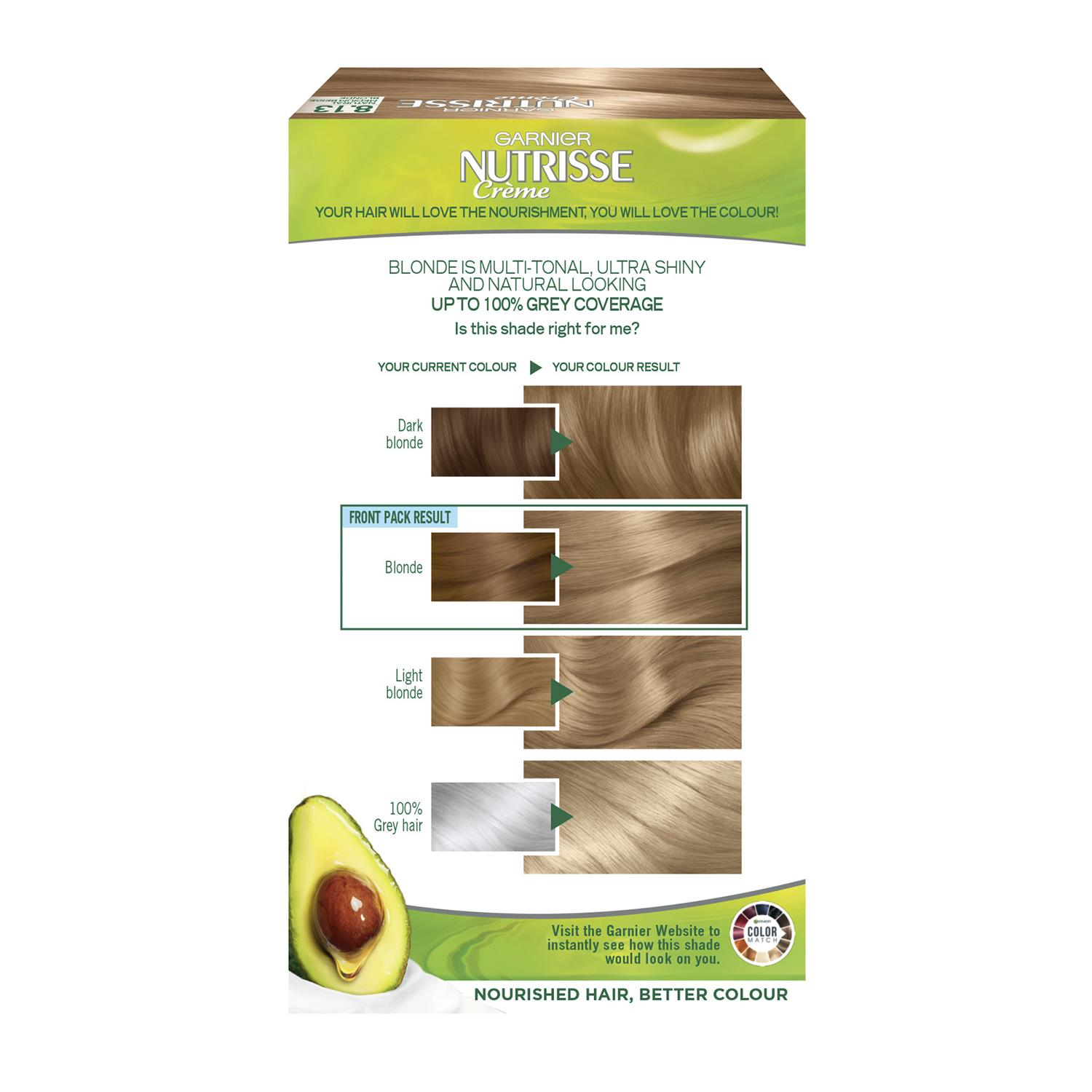 thumbnail 262 - 3 Pack Garnier Nutrisse Permanent Hair Dye With Different Shades