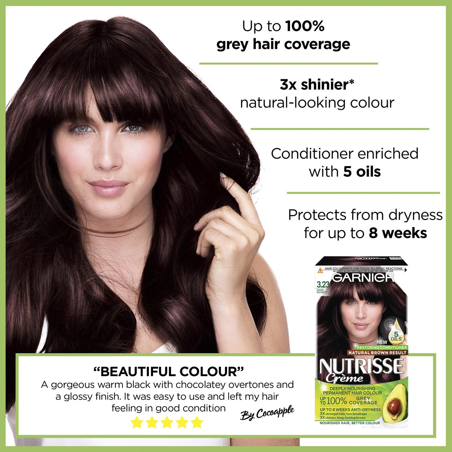 thumbnail 60 - 3 Pack Garnier Nutrisse Permanent Hair Dye With Different Shades