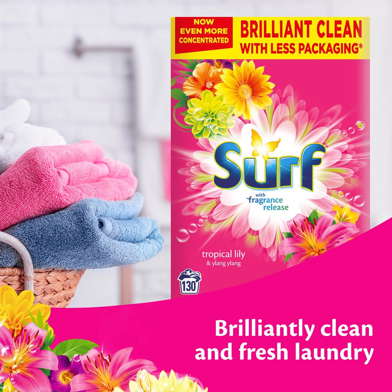thumbnail 77 - Laundry Bundle 1x130W Surf Laundry Powder & 1x58W Comfort Fabric Conditioner