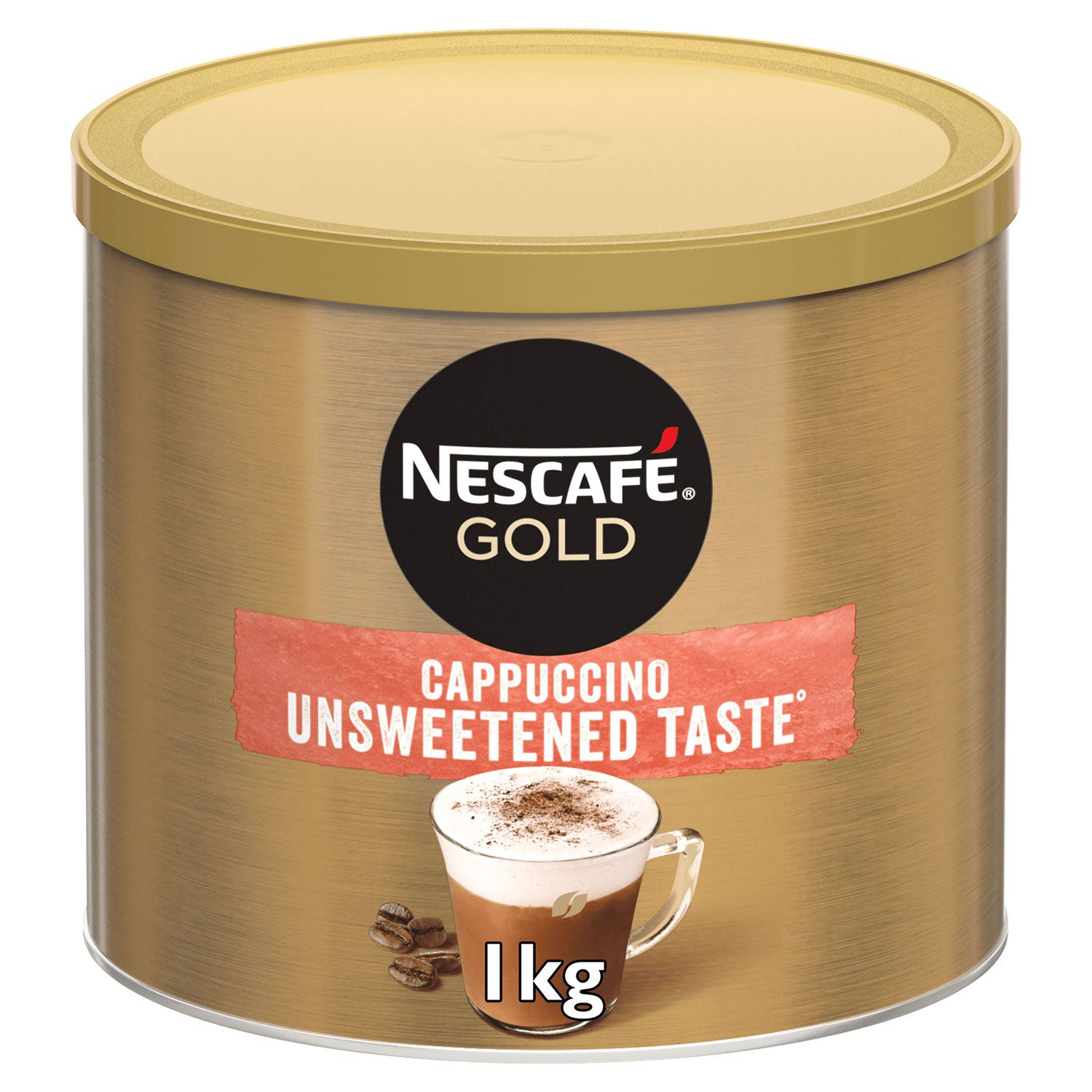 thumbnail 13 - Nescafe Gold Instant Coffee Granules 1kg Cappuccino or Latte, Low Sugar
