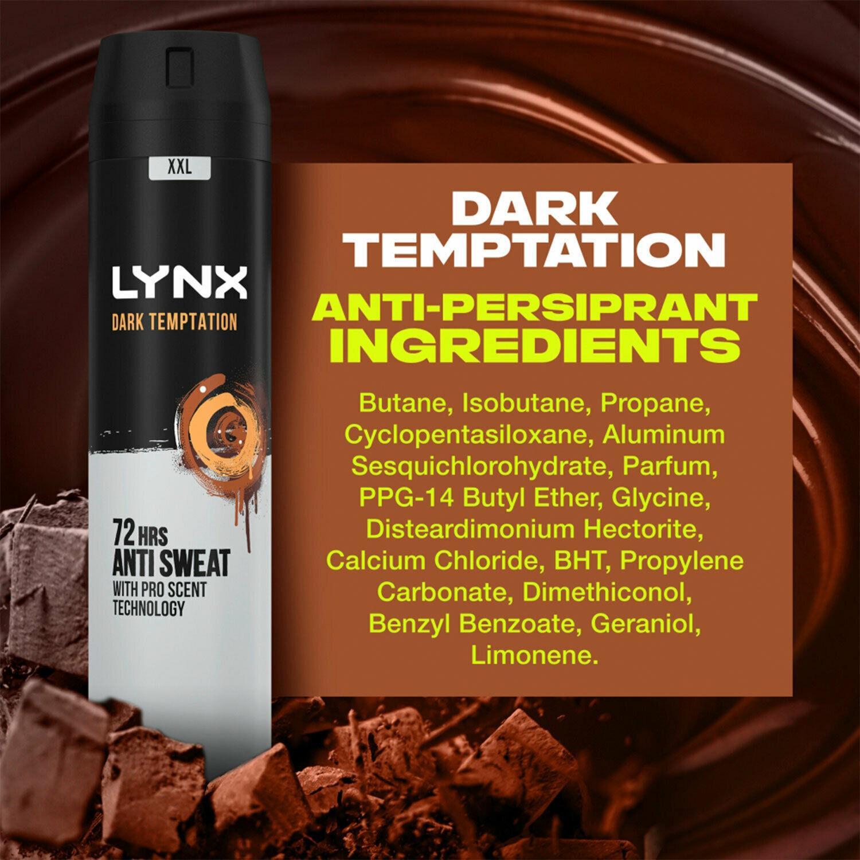 thumbnail 33 - 6 Pack Lynx XXL 72-Hour Sweat Protection Anti-Perspirant Deodorant, 250ml