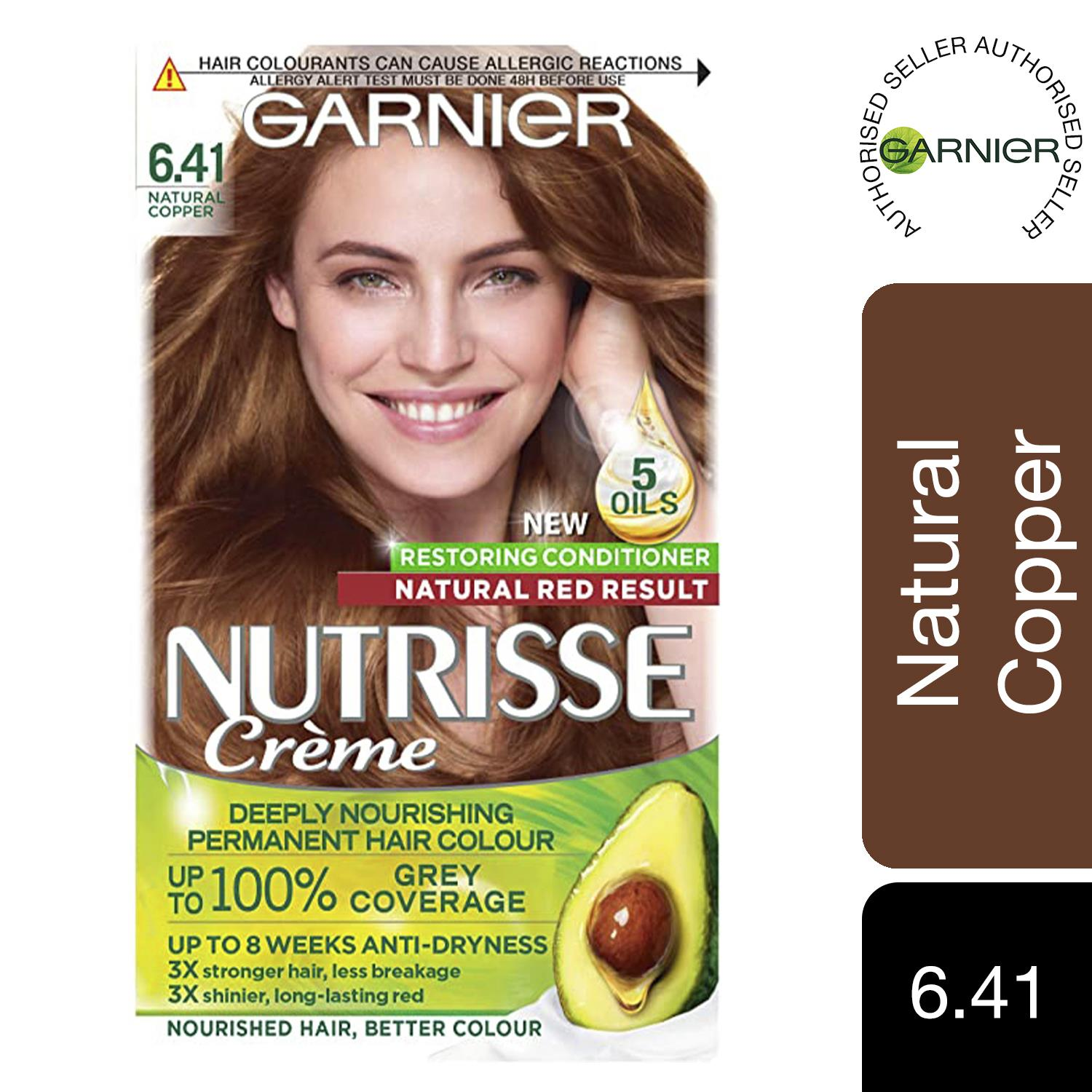 thumbnail 199 - 3 Pack Garnier Nutrisse Permanent Hair Dye With Different Shades