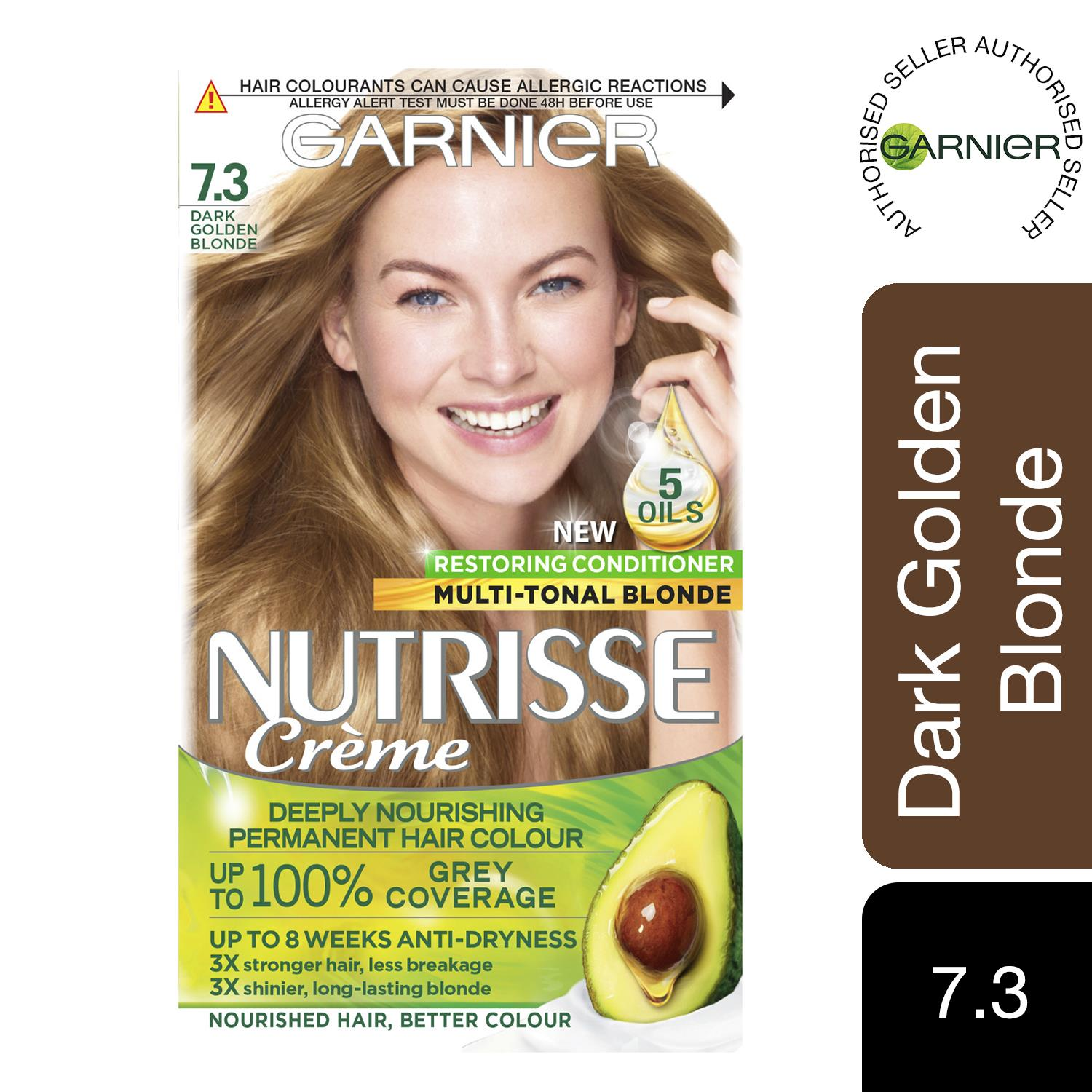 thumbnail 229 - 3 Pack Garnier Nutrisse Permanent Hair Dye With Different Shades