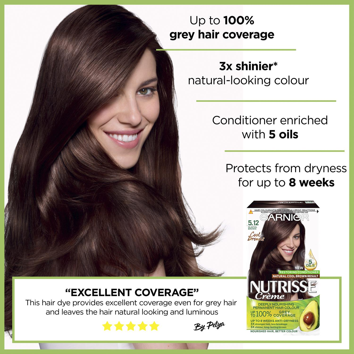 thumbnail 141 - 3 Pack Garnier Nutrisse Permanent Hair Dye With Different Shades