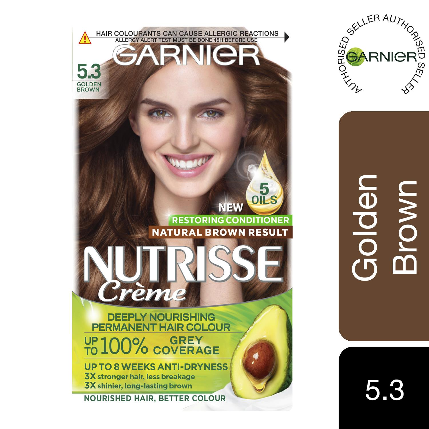 thumbnail 127 - 3 Pack Garnier Nutrisse Permanent Hair Dye With Different Shades