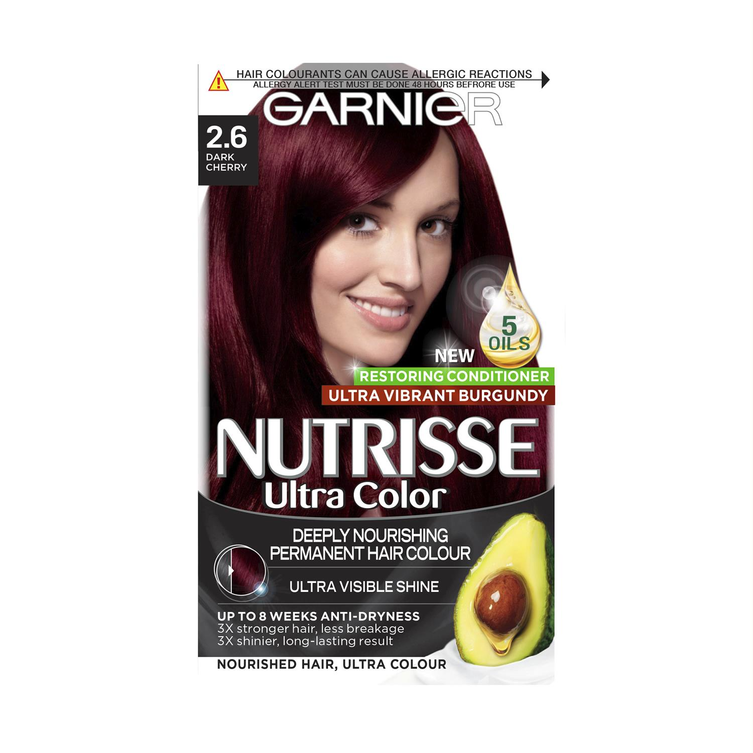 thumbnail 24 - 3 Pack Garnier Nutrisse Permanent Hair Dye With Different Shades