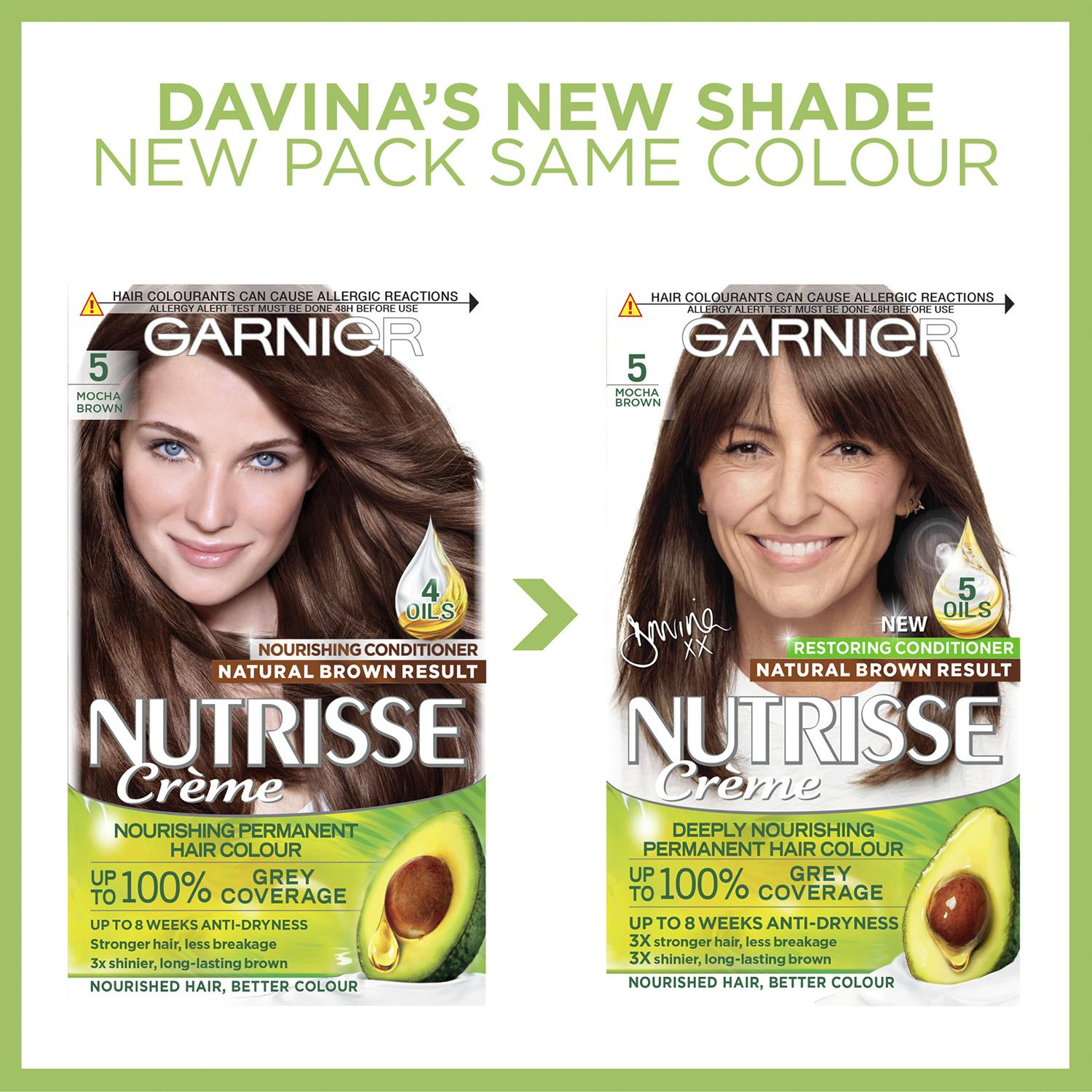thumbnail 123 - 3 Pack Garnier Nutrisse Permanent Hair Dye With Different Shades