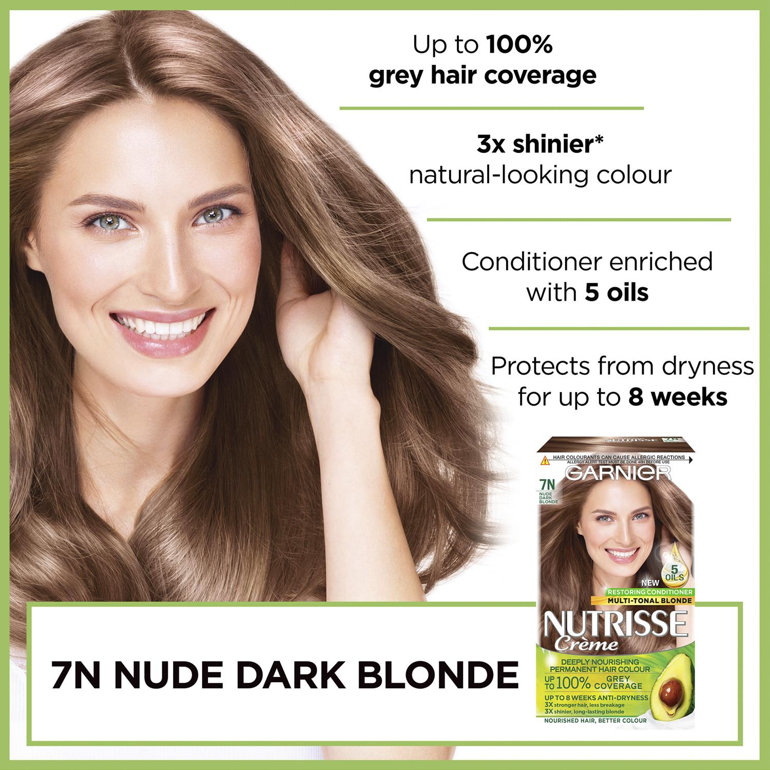 thumbnail 250 - 3 Pack Garnier Nutrisse Permanent Hair Dye With Different Shades