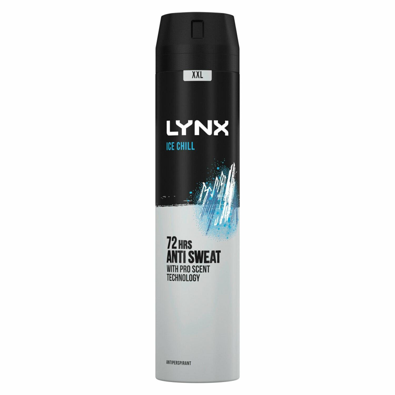 thumbnail 47 - 6 Pack Lynx XXL 72-Hour Sweat Protection Anti-Perspirant Deodorant, 250ml