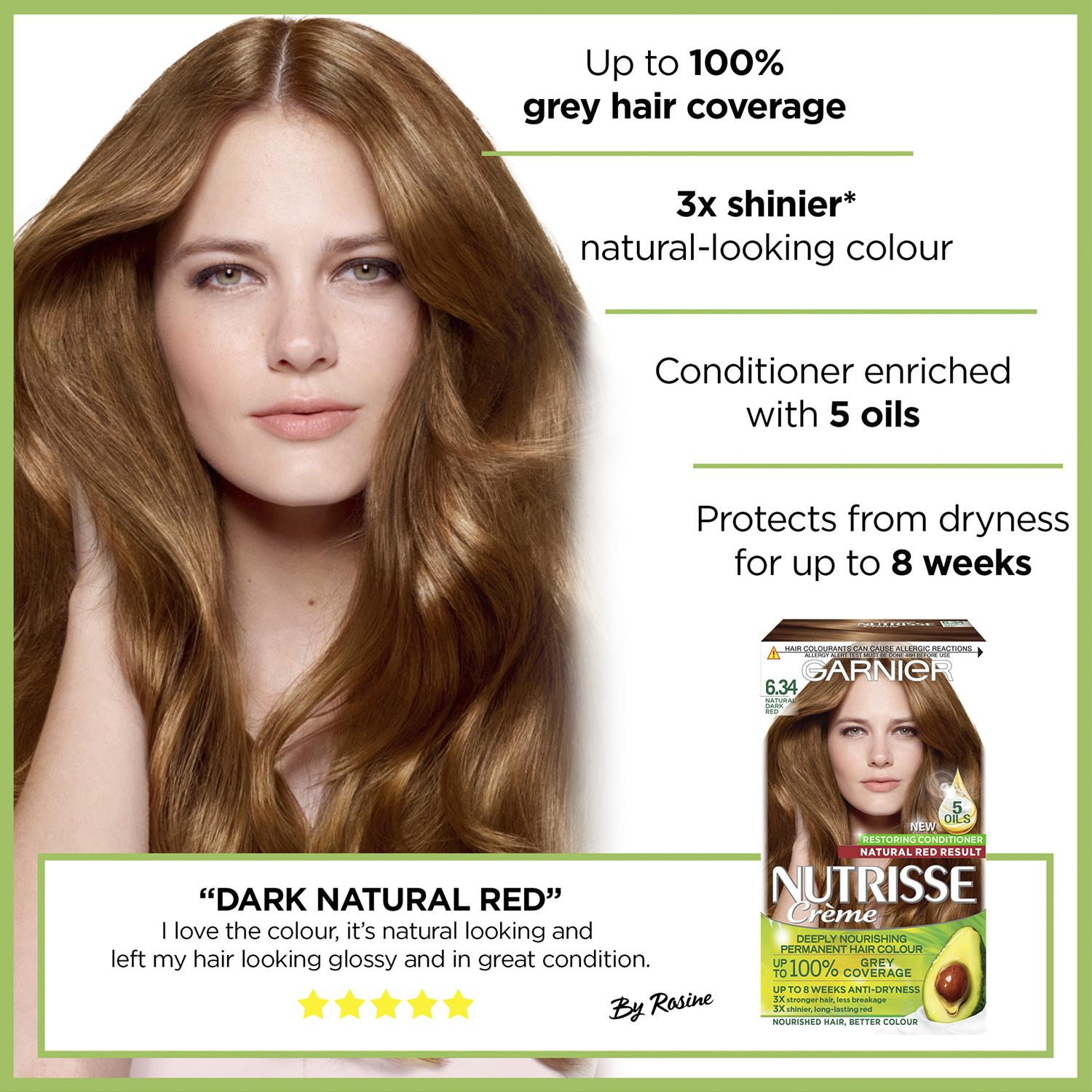 thumbnail 197 - 3 Pack Garnier Nutrisse Permanent Hair Dye With Different Shades