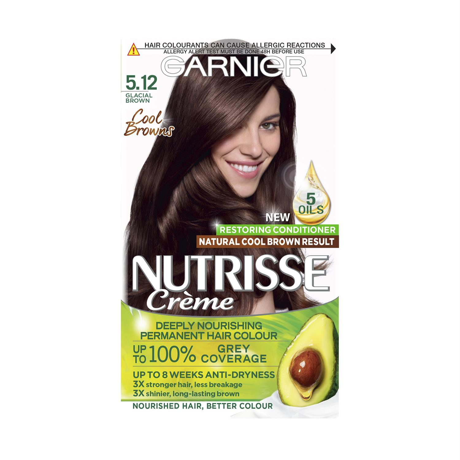thumbnail 137 - 3 Pack Garnier Nutrisse Permanent Hair Dye With Different Shades