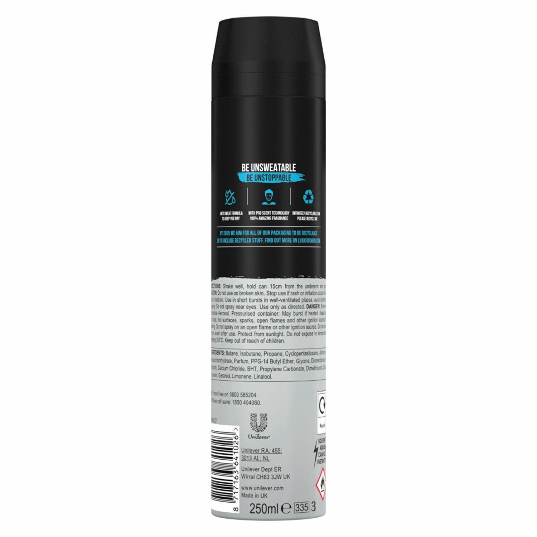 thumbnail 46 - 6 Pack Lynx XXL 72-Hour Sweat Protection Anti-Perspirant Deodorant, 250ml