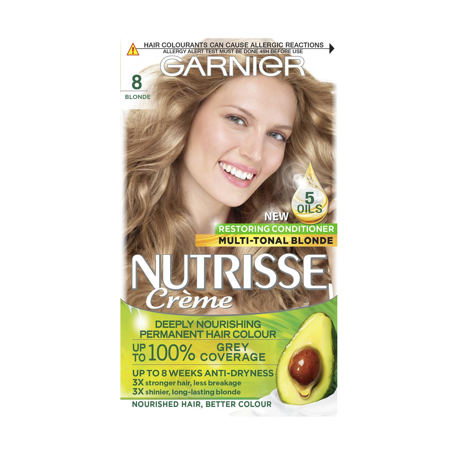 thumbnail 254 - 3 Pack Garnier Nutrisse Permanent Hair Dye With Different Shades