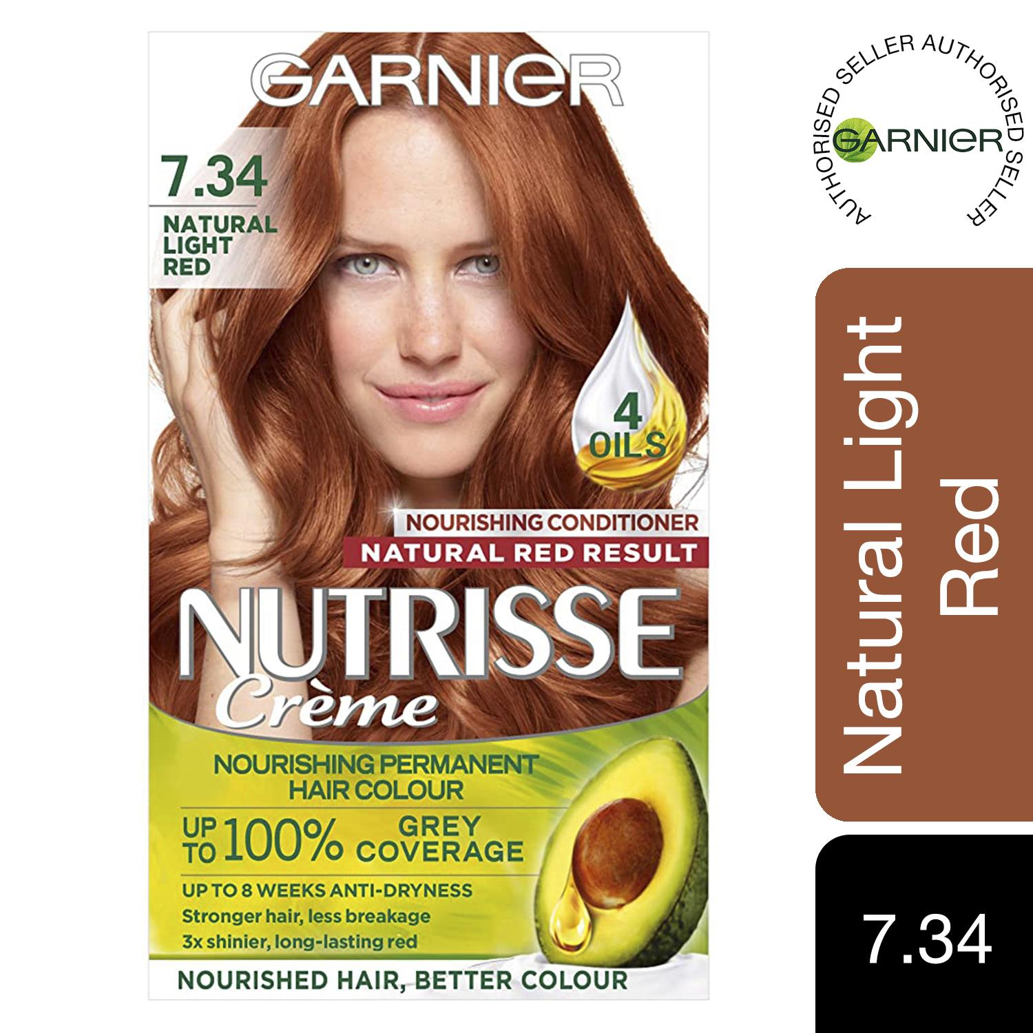 thumbnail 237 - 3 Pack Garnier Nutrisse Permanent Hair Dye With Different Shades