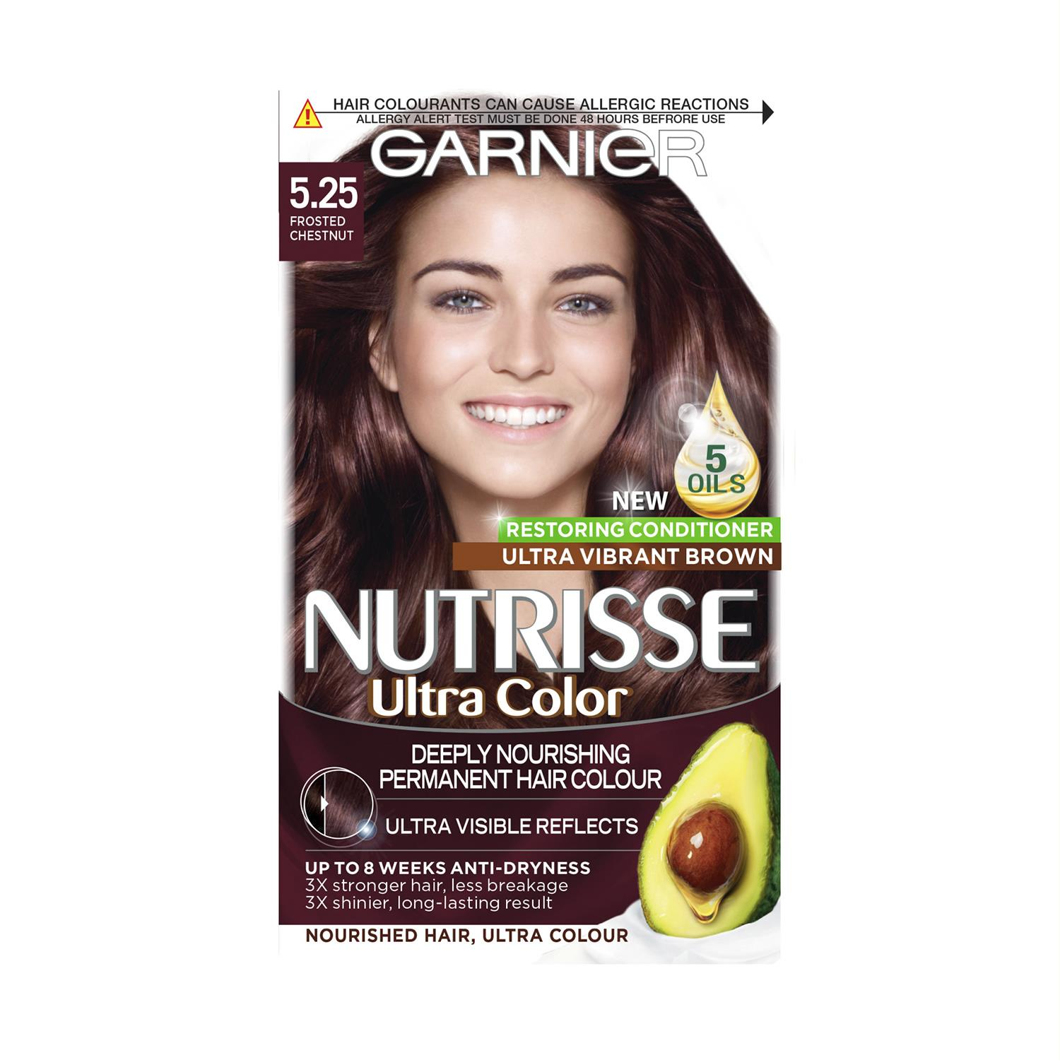 thumbnail 145 - 3 Pack Garnier Nutrisse Permanent Hair Dye With Different Shades
