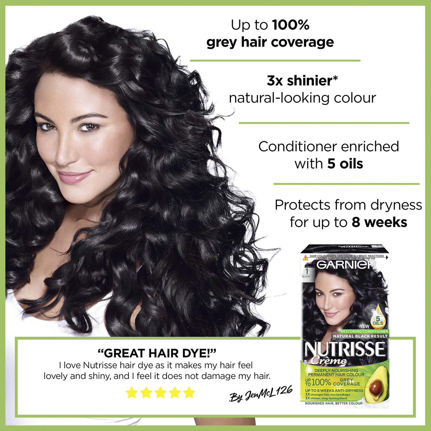 thumbnail 20 - 3 Pack Garnier Nutrisse Permanent Hair Dye With Different Shades