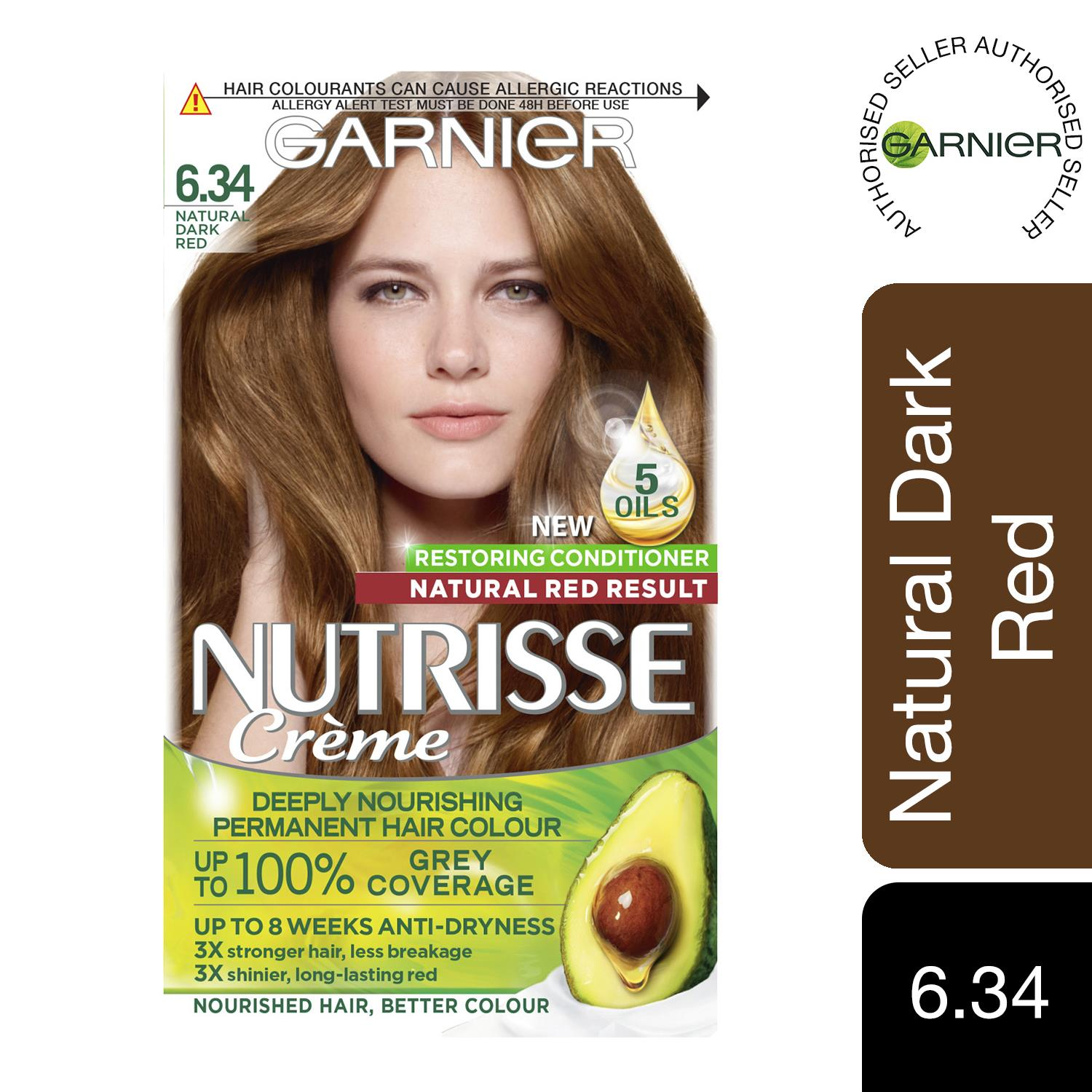 thumbnail 191 - 3 Pack Garnier Nutrisse Permanent Hair Dye With Different Shades