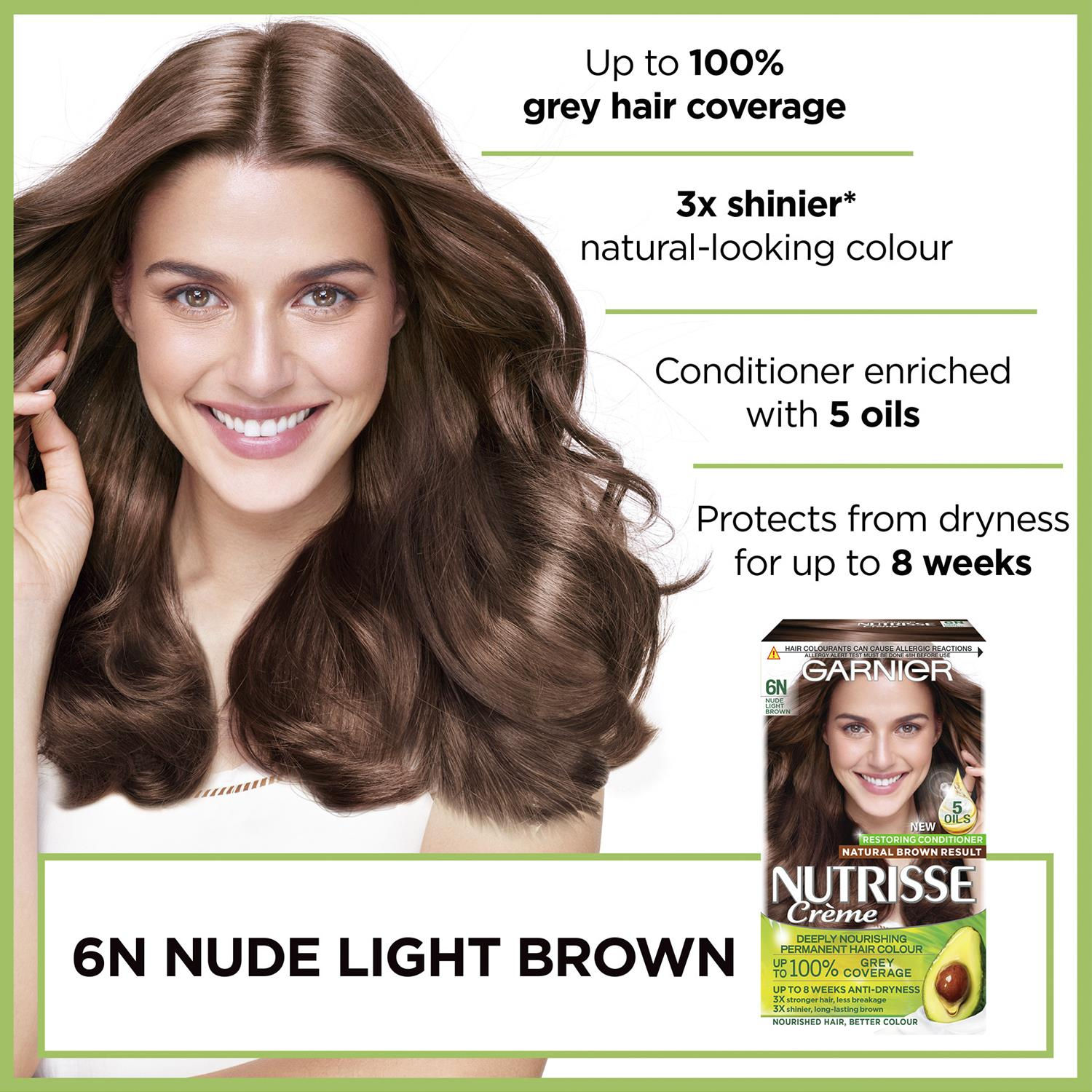 thumbnail 219 - 3 Pack Garnier Nutrisse Permanent Hair Dye With Different Shades