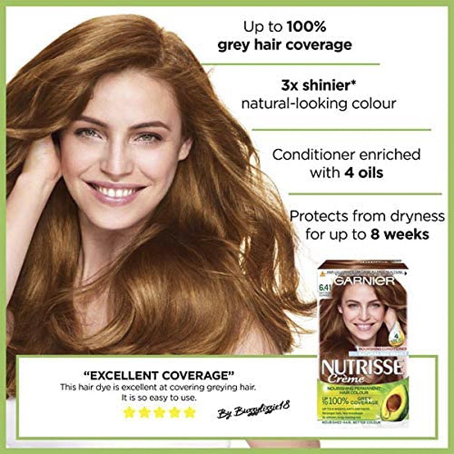 thumbnail 202 - 3 Pack Garnier Nutrisse Permanent Hair Dye With Different Shades