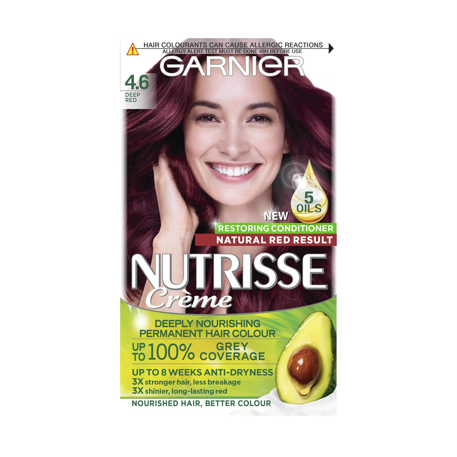 thumbnail 97 - 3 Pack Garnier Nutrisse Permanent Hair Dye With Different Shades