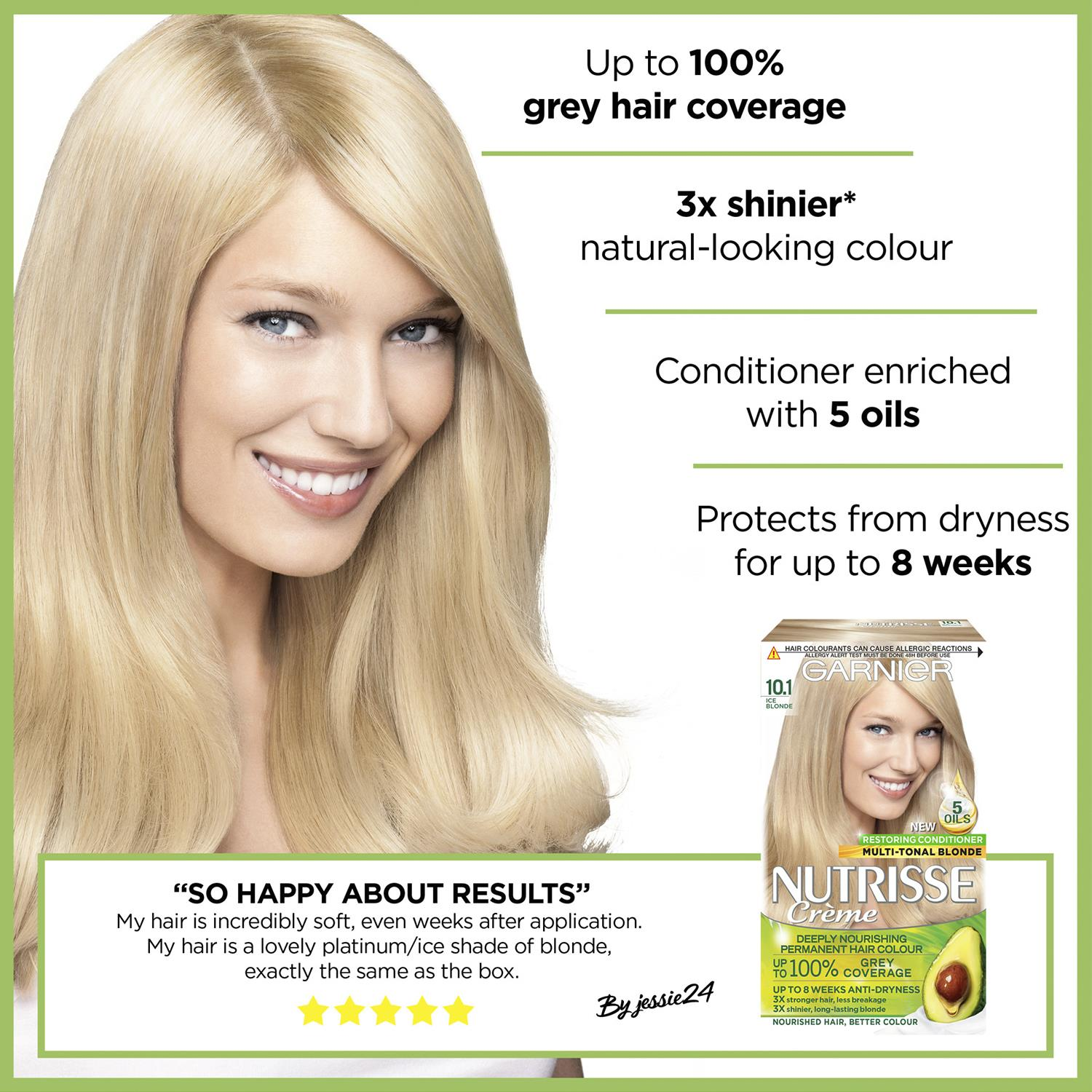 thumbnail 304 - 3 Pack Garnier Nutrisse Permanent Hair Dye With Different Shades