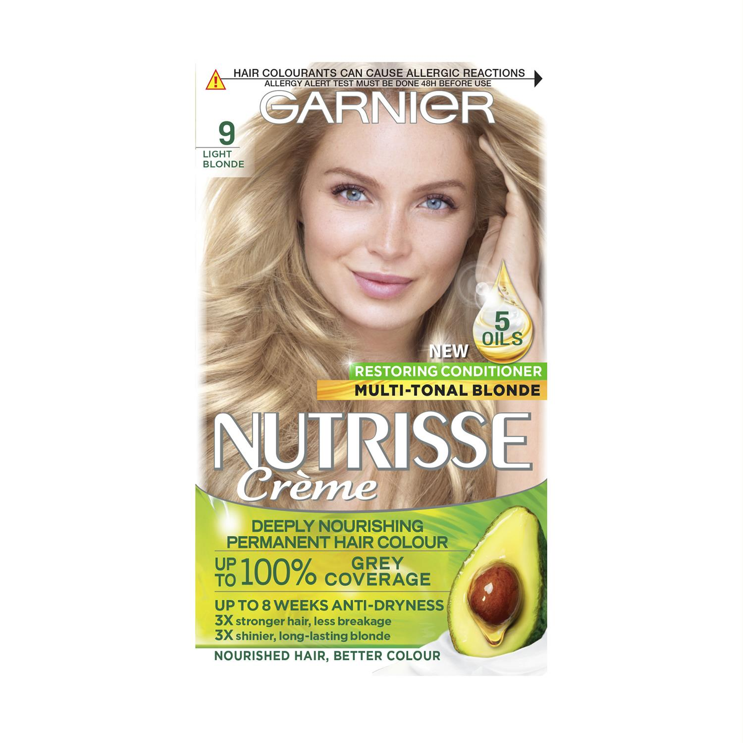 thumbnail 284 - 3 Pack Garnier Nutrisse Permanent Hair Dye With Different Shades