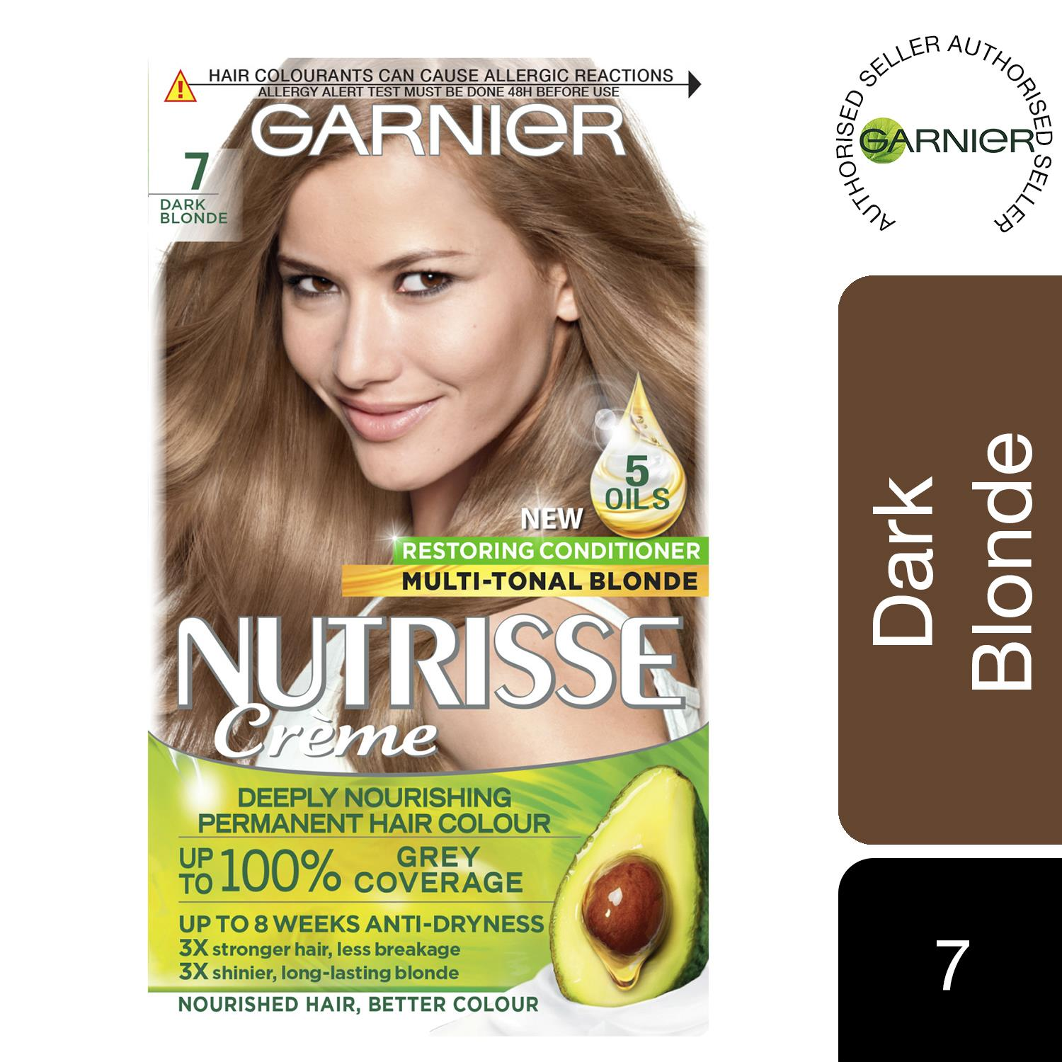 thumbnail 221 - 3 Pack Garnier Nutrisse Permanent Hair Dye With Different Shades