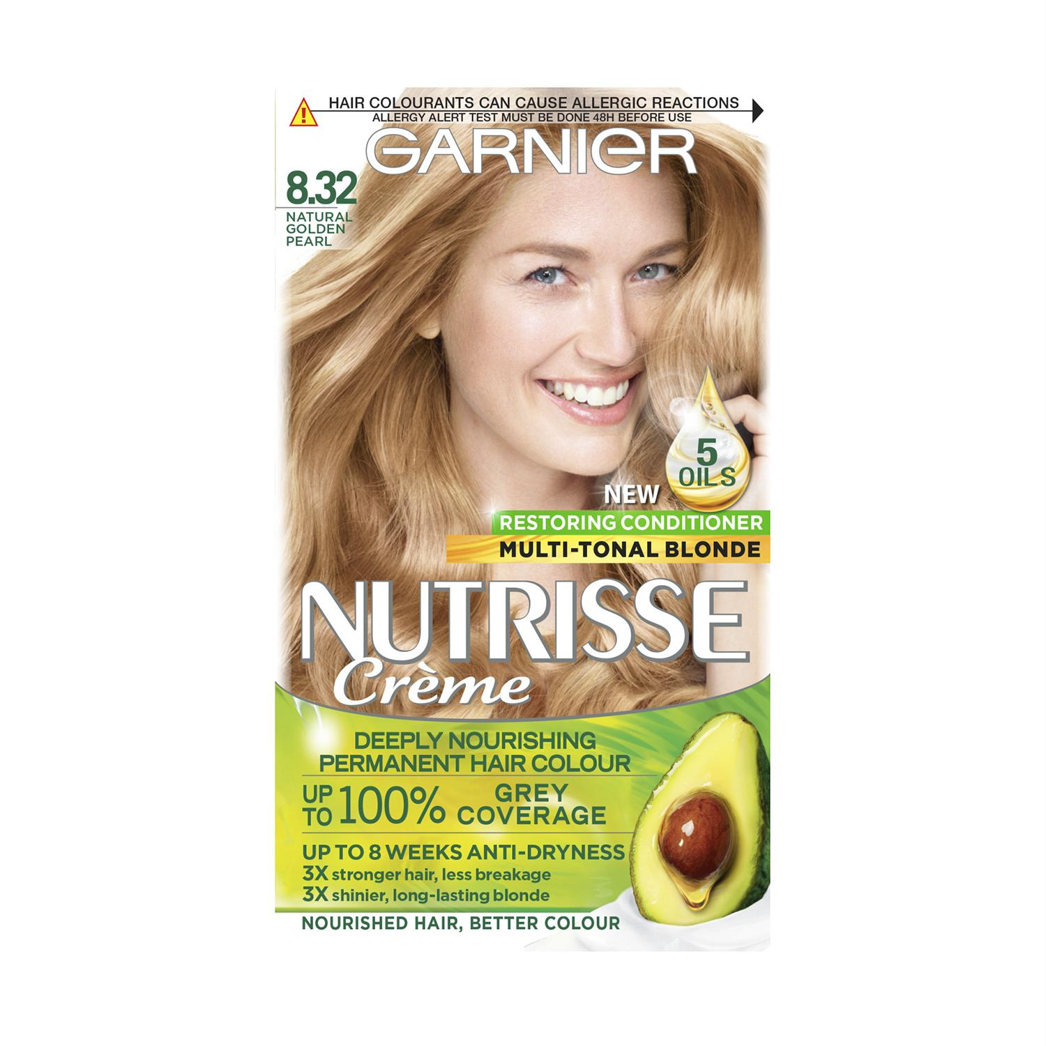 thumbnail 268 - 3 Pack Garnier Nutrisse Permanent Hair Dye With Different Shades