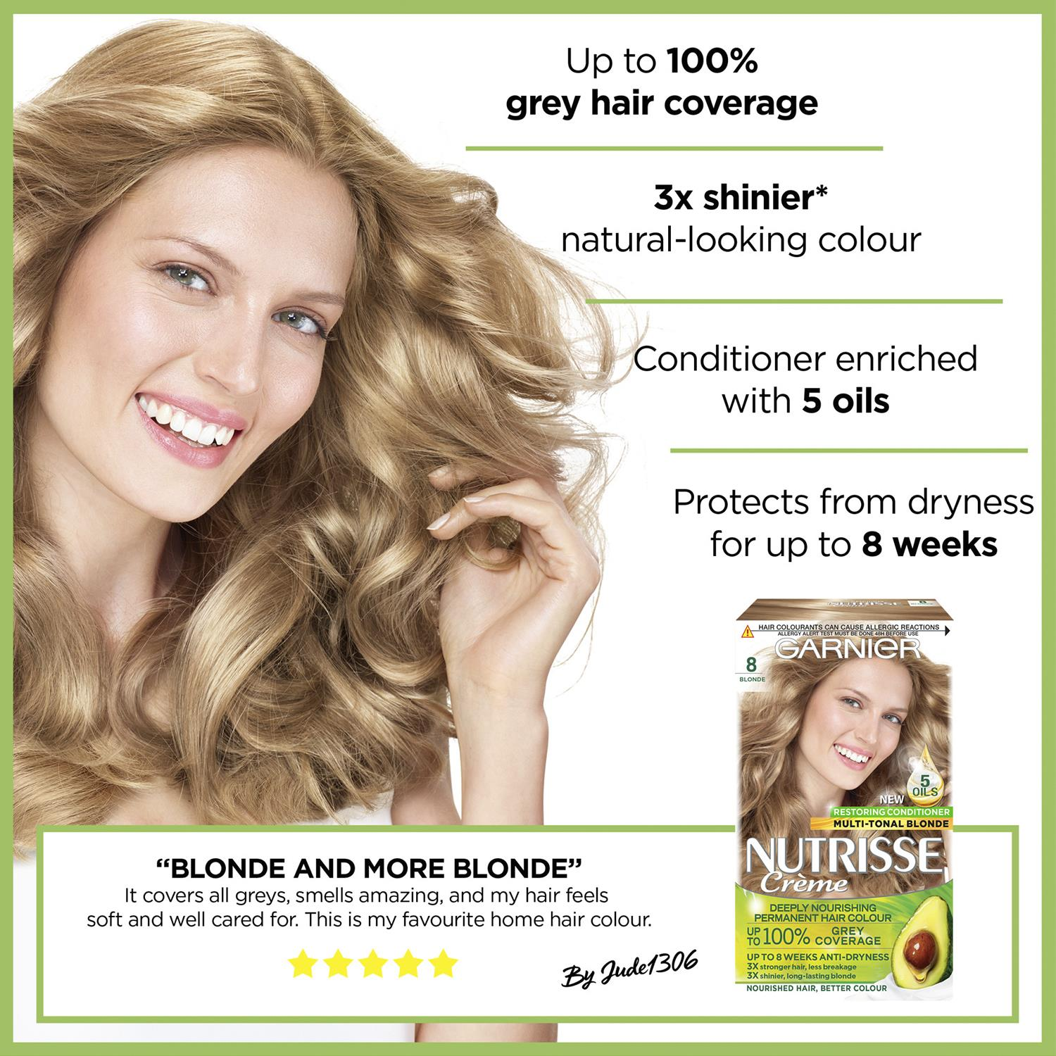 thumbnail 257 - 3 Pack Garnier Nutrisse Permanent Hair Dye With Different Shades