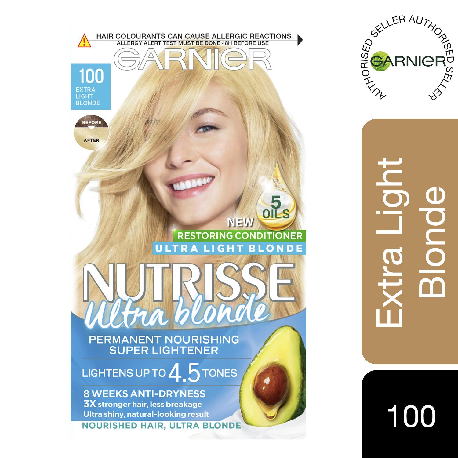 thumbnail 306 - 3 Pack Garnier Nutrisse Permanent Hair Dye With Different Shades