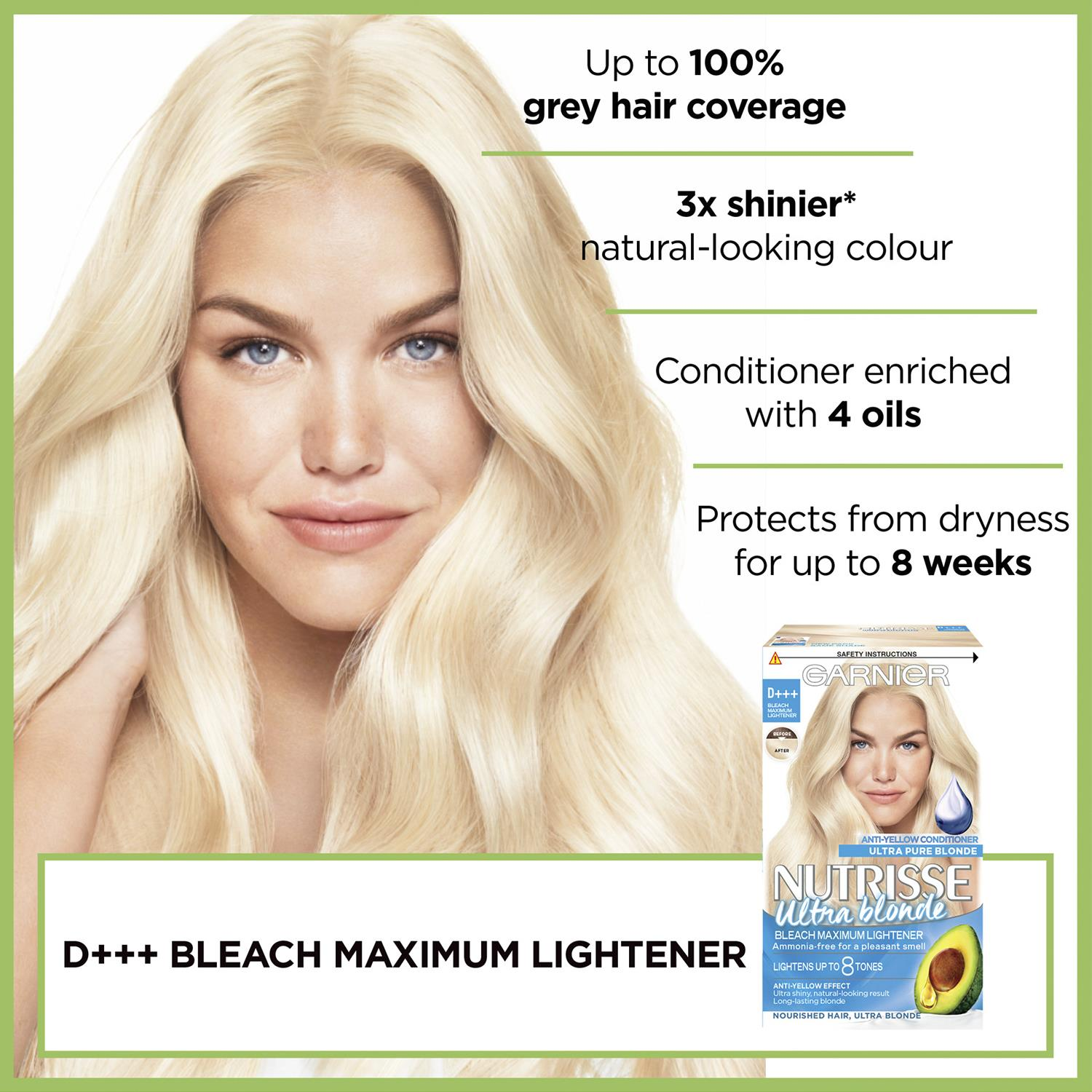thumbnail 320 - 3 Pack Garnier Nutrisse Permanent Hair Dye With Different Shades