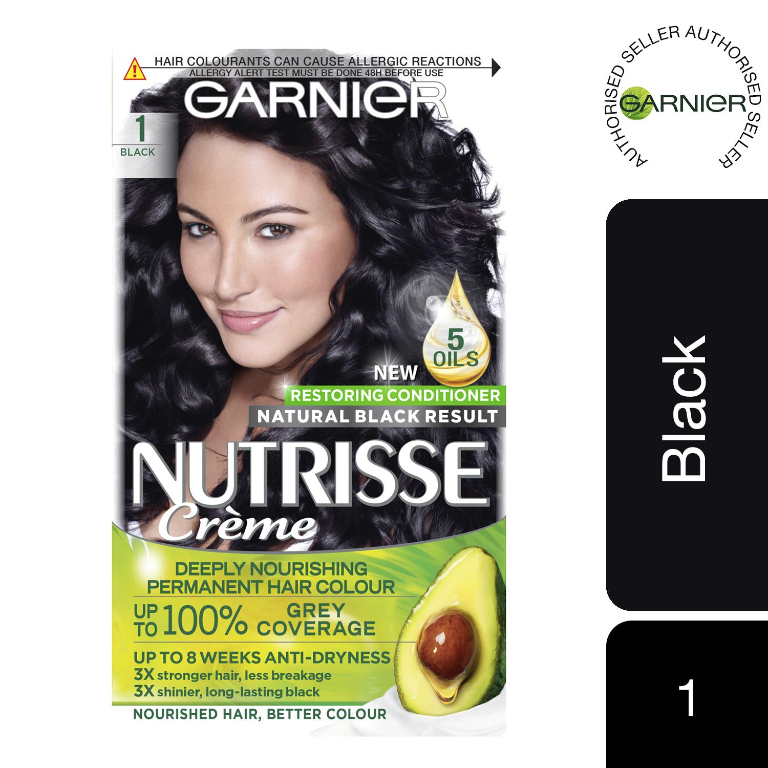 thumbnail 14 - 3 Pack Garnier Nutrisse Permanent Hair Dye With Different Shades