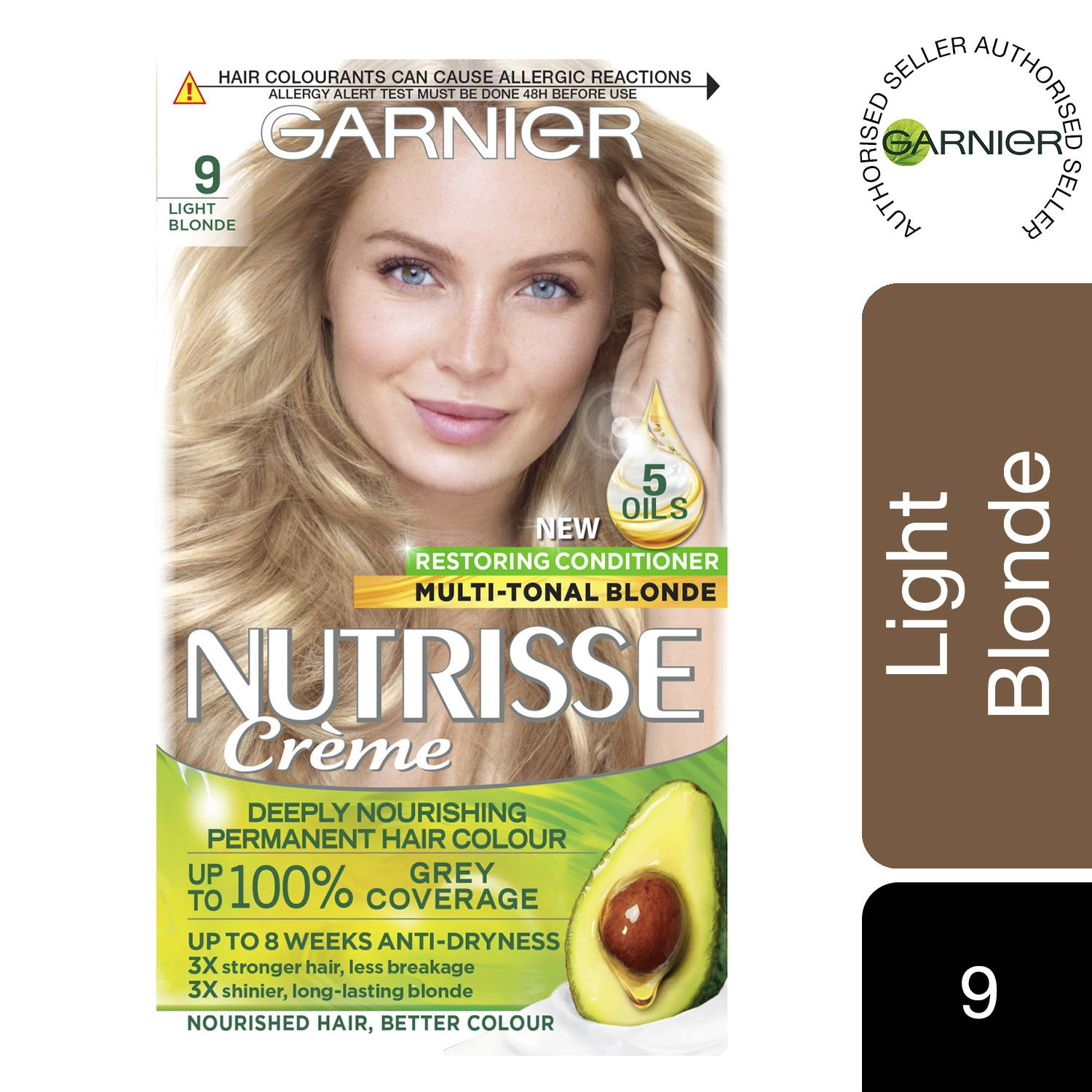 thumbnail 282 - 3 Pack Garnier Nutrisse Permanent Hair Dye With Different Shades